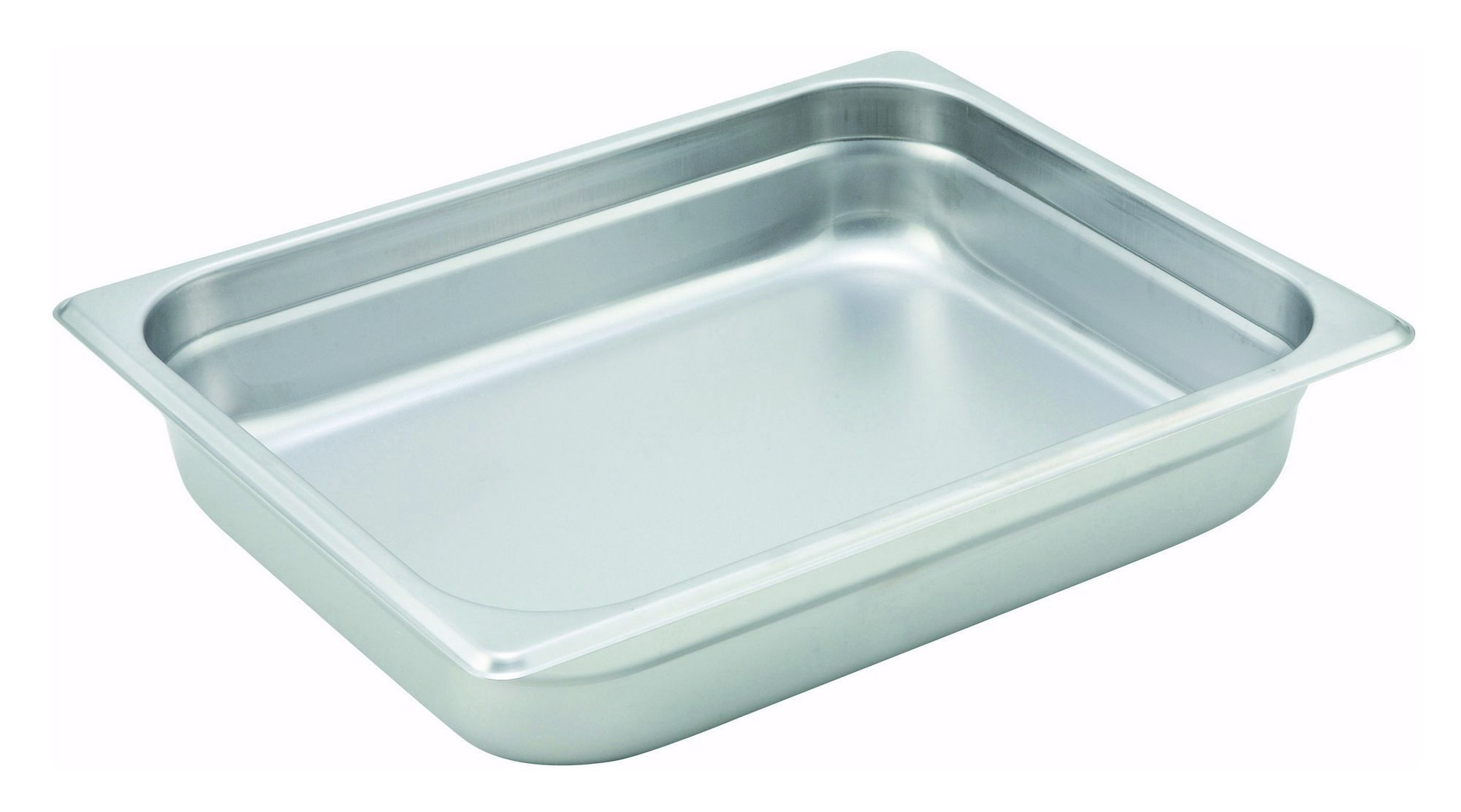 Winco Heavy Half Size Anti-Jamming Steam Table Pan (22 Gauge, 2.5
