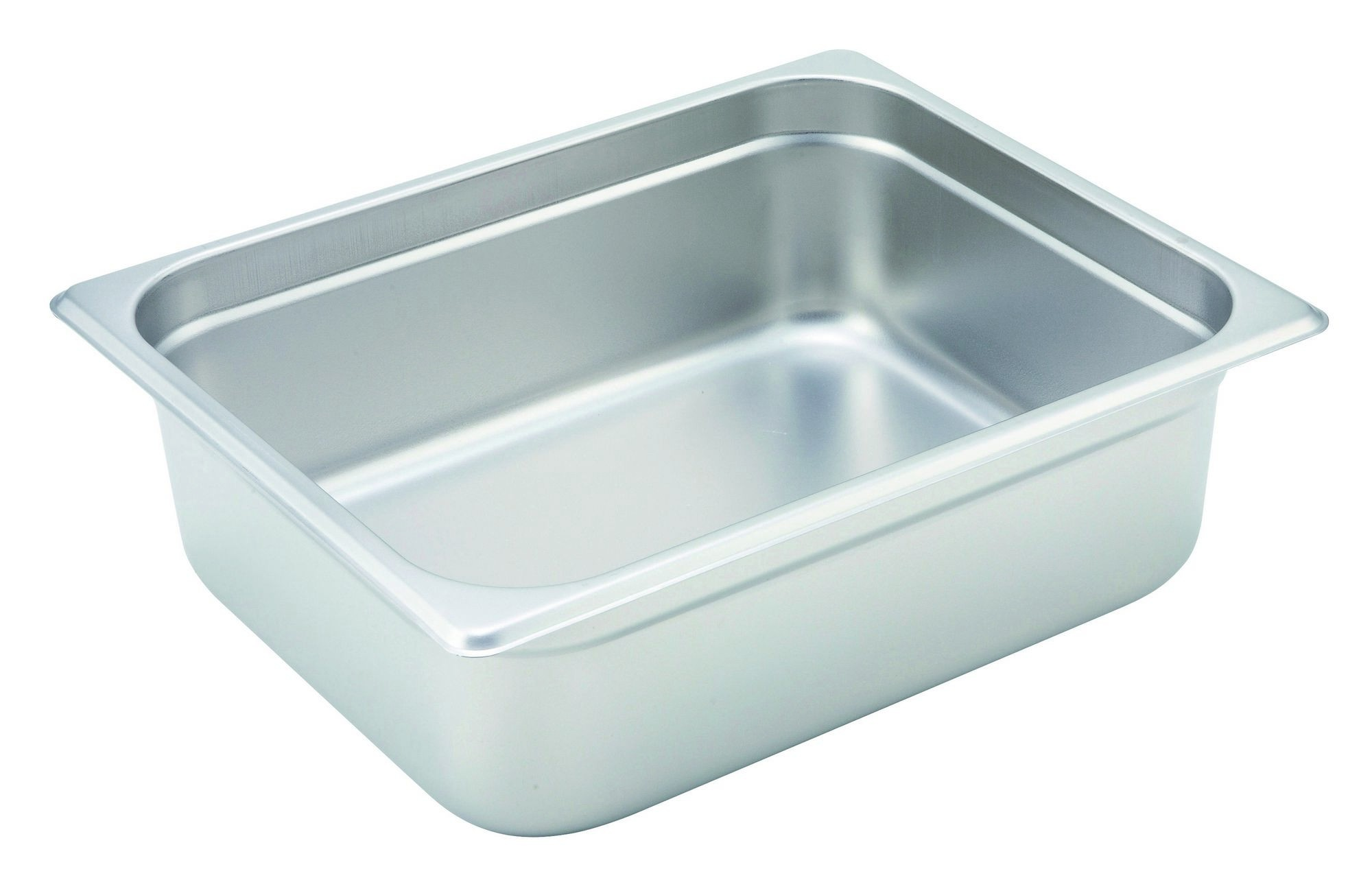 Winco Heavy Half Size Anti-Jamming Steam Table Pan (22 Gauge, 4