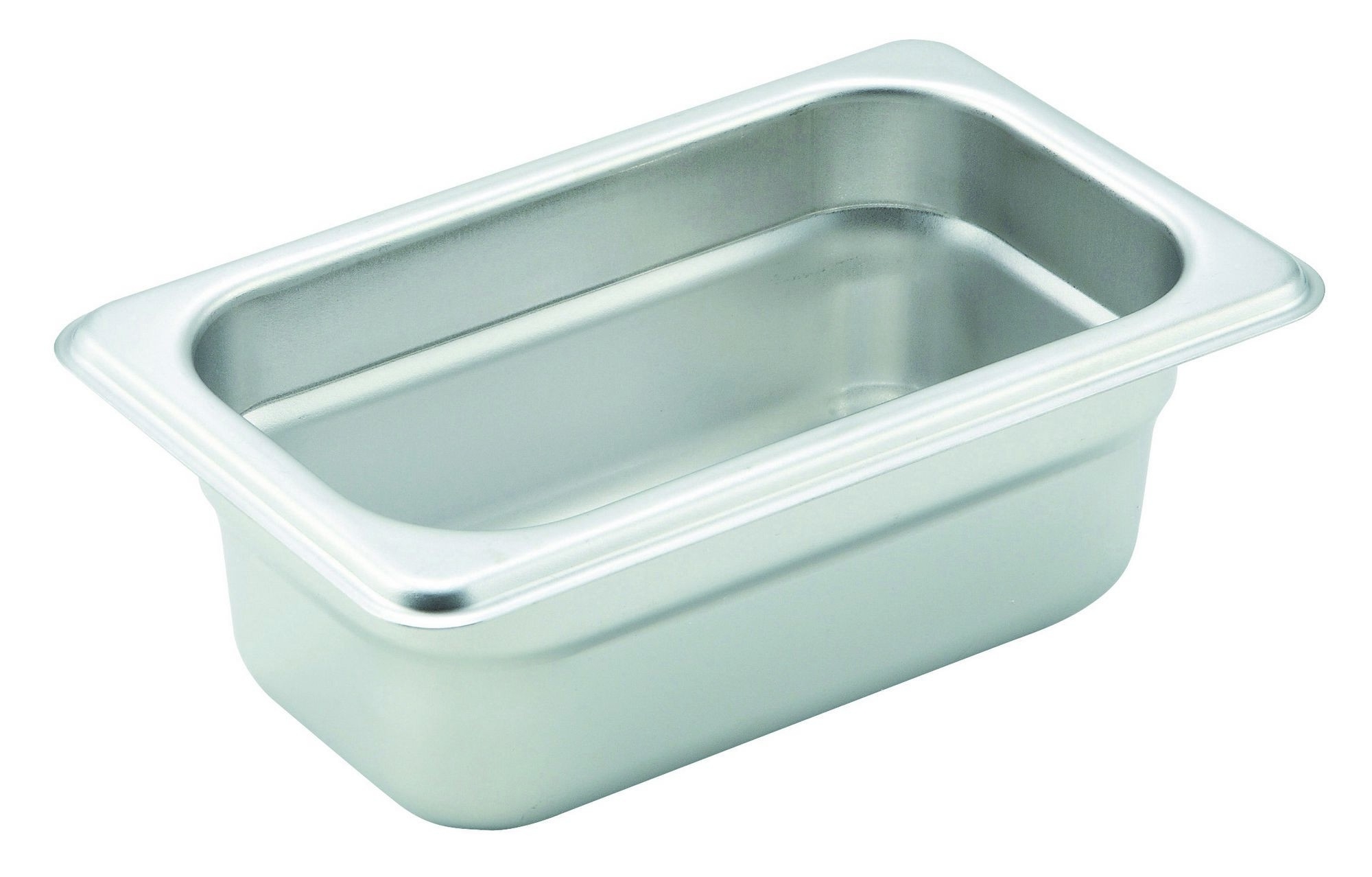 Winco Heavy Ninth Size Anti-Jamming Steam Table Pan (22 Gauge, 2.5