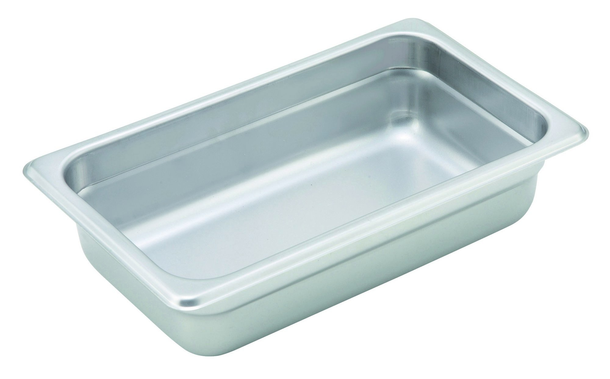 "Winco SPJH-402 1/4 Size Anti-Jam 22 Gauge Steam Table Pan 2-1/2"" Deep"