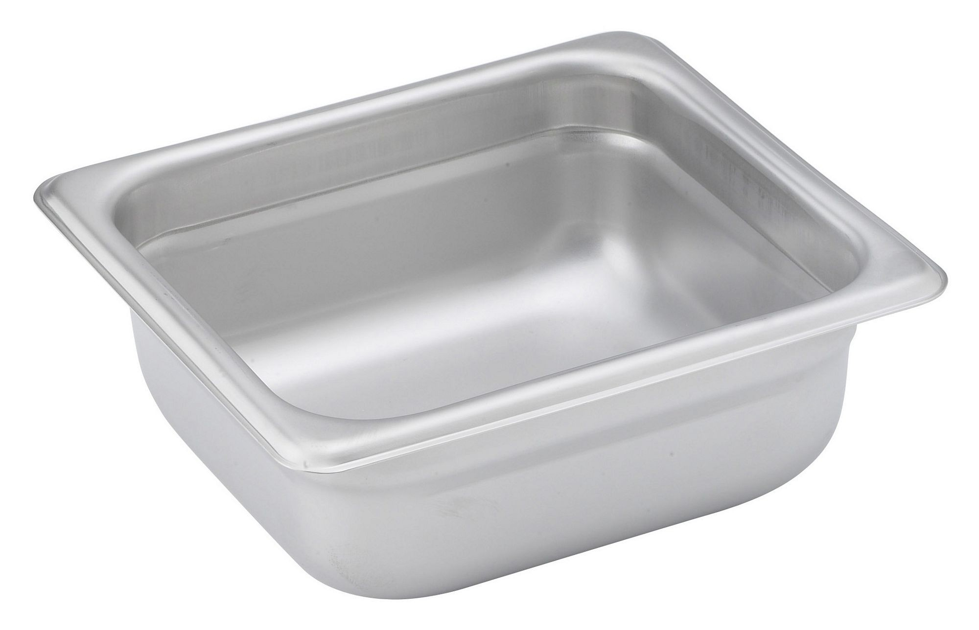 "Winco Spjh-602 1/6 Size Anti-Jam 22 Gauge Steam Table Pan 2-1/2"" Deep"