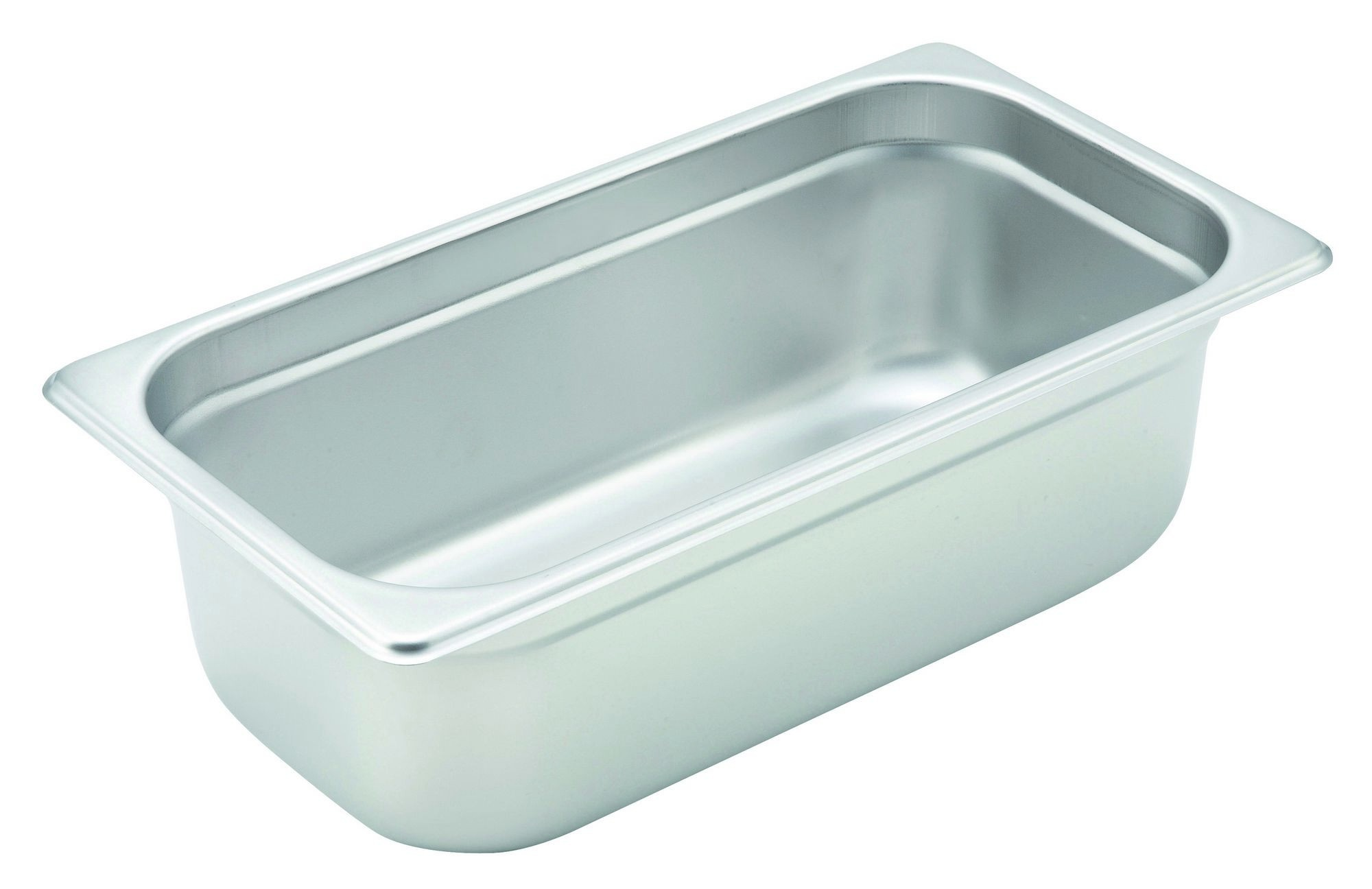 Winco Heavy Third Size Anti-Jamming Steam Table Pan (22 Gauge, 4