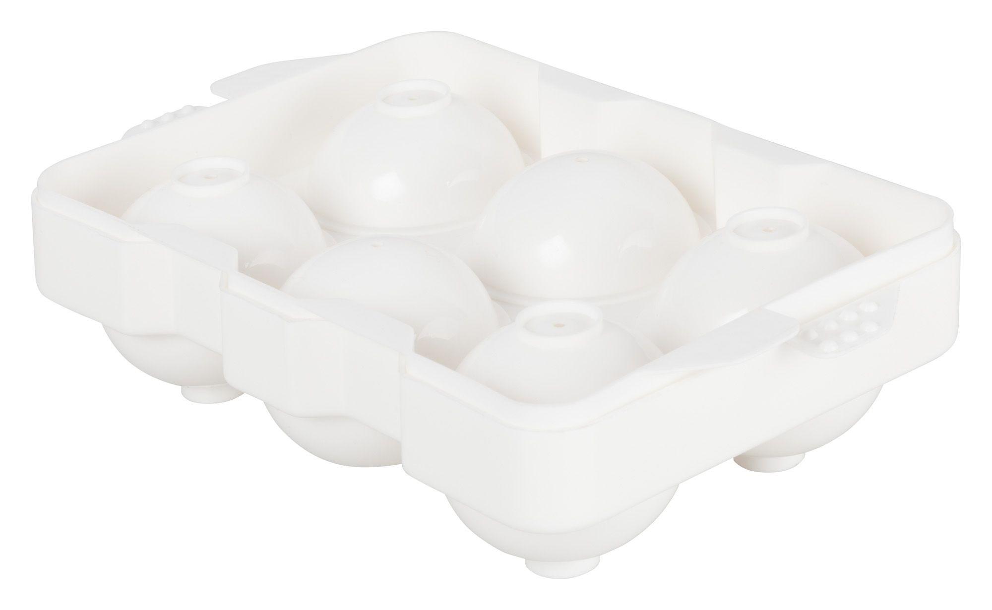 Winco ICCP-6W Round 6-Cube Ice Tray