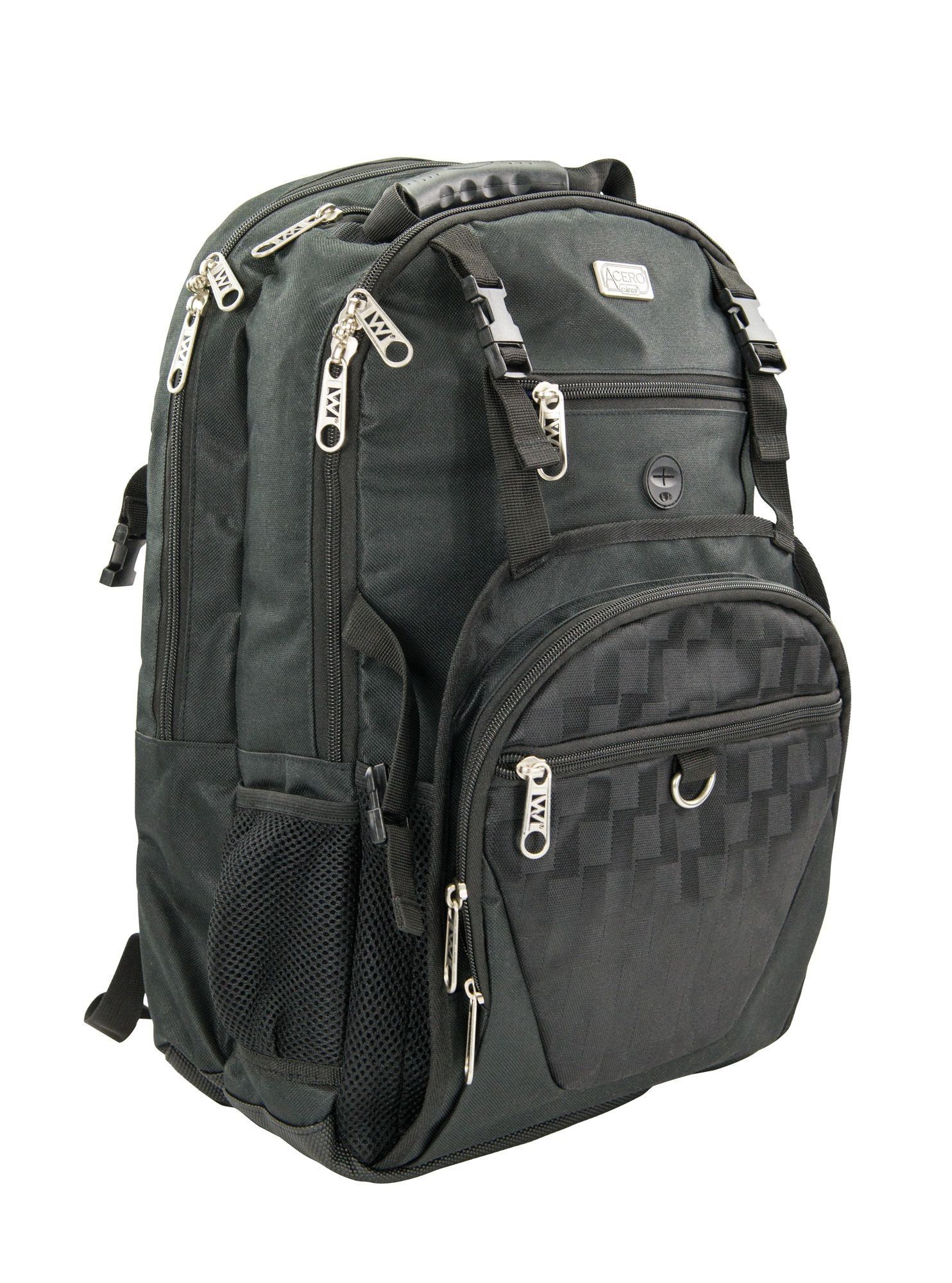 Winco KBP-1 Chef's Black Backpack