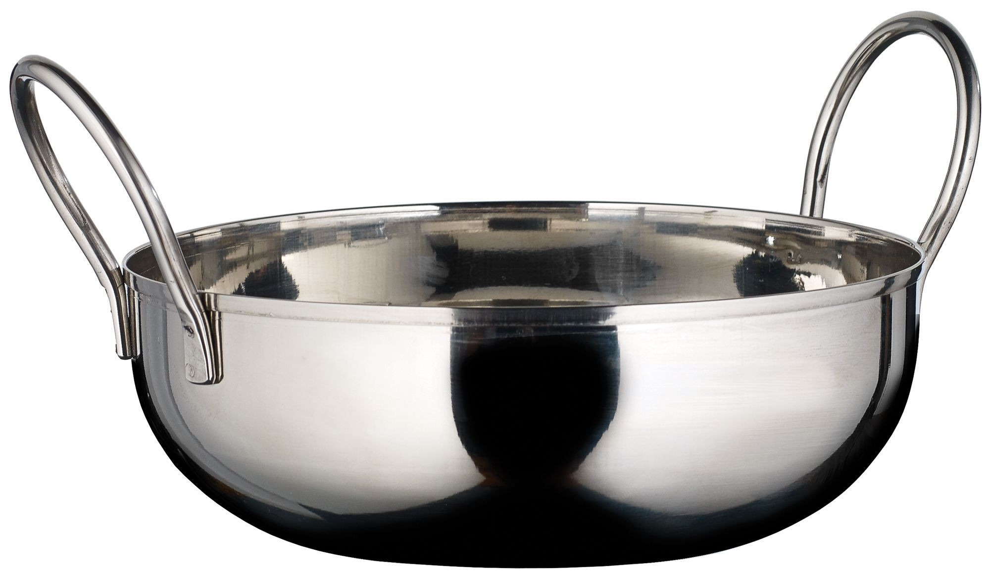 Winco KDB-6 Stainless Steel 28 oz. Kady Bowl with Welded Handles
