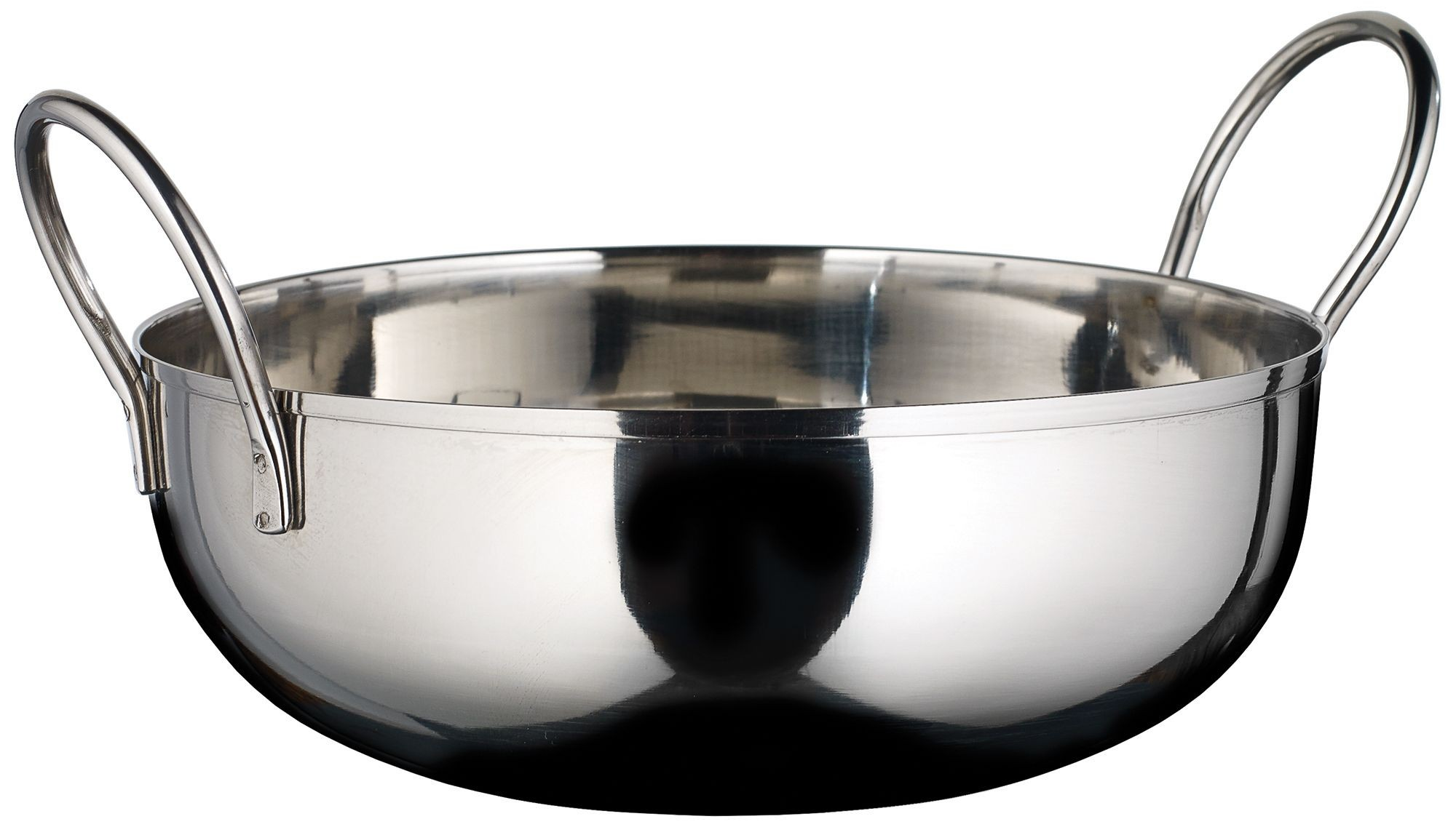Winco KDB-7 Stainless Steel 40 oz. Kady Bowl with Welded Handles