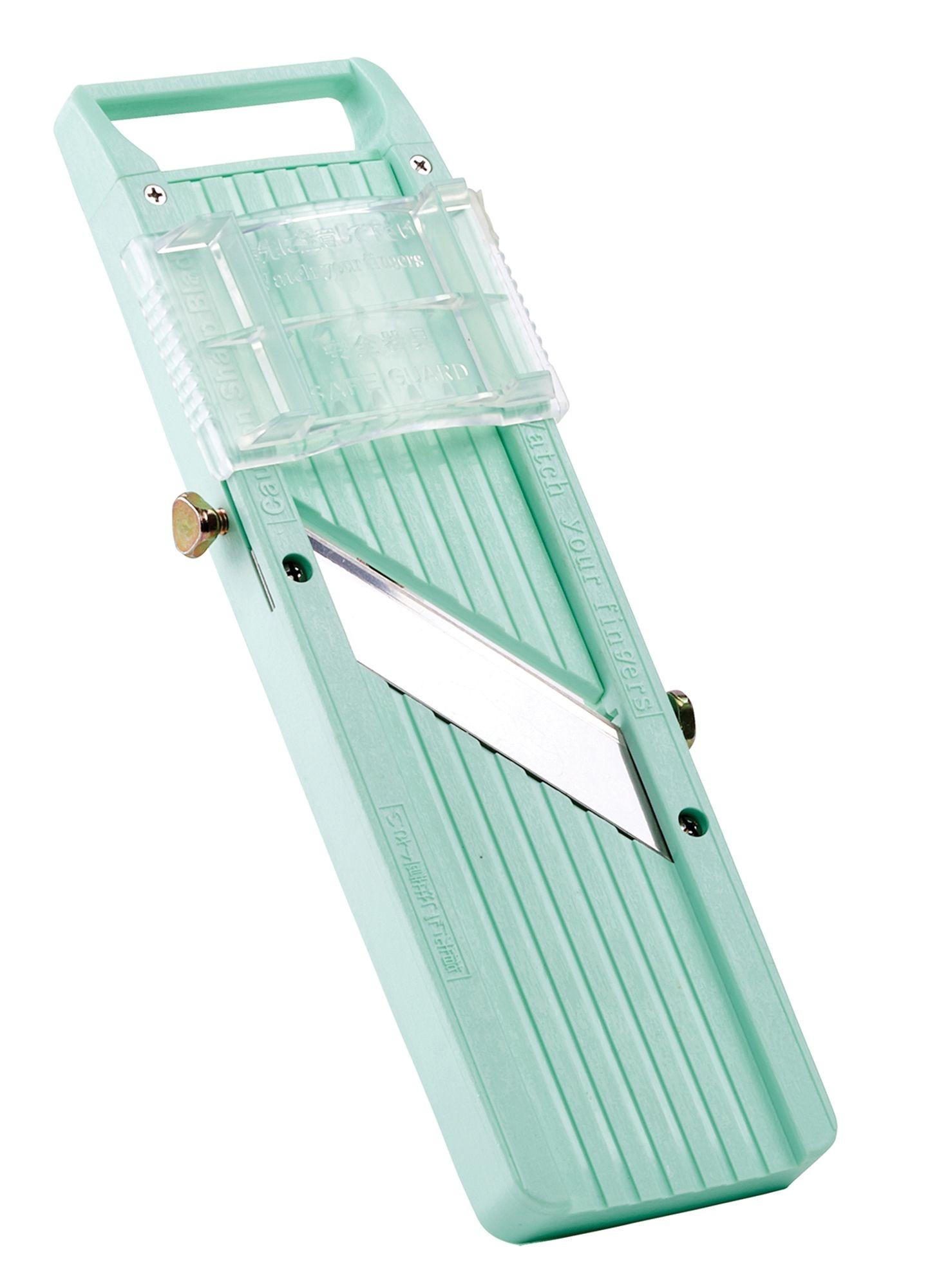 Winco MDL-5P Japanese Mandoline 3-Blade Slicer Set
