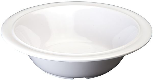 Winco MMB-12W White Melamine Soup/Cereal Bowl 12 oz.