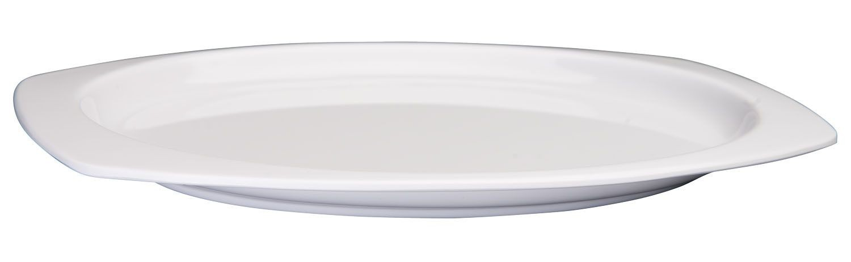 "Winco MMPT-96 Tan Melamine Rectangular Platter, 9-1/2"" x 6-3/4"""