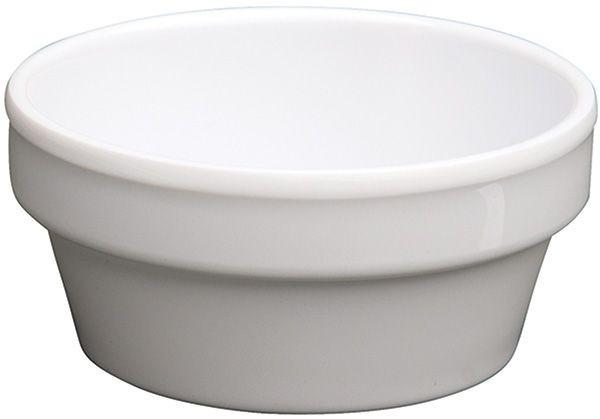 Winco MMSC-4W White Melamine Sauce Cup 4 oz.