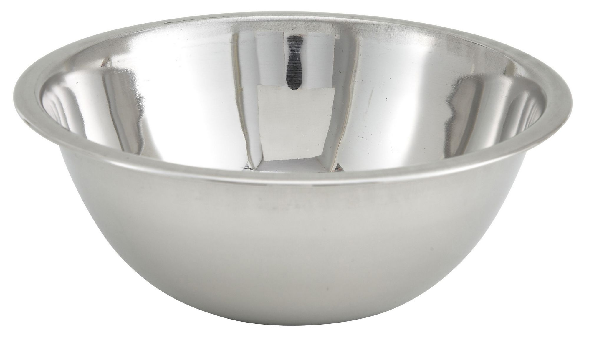 Winco MXBT-75Q Stainless Steel All-Purpose Mixing Bowl 3/4 Qt.