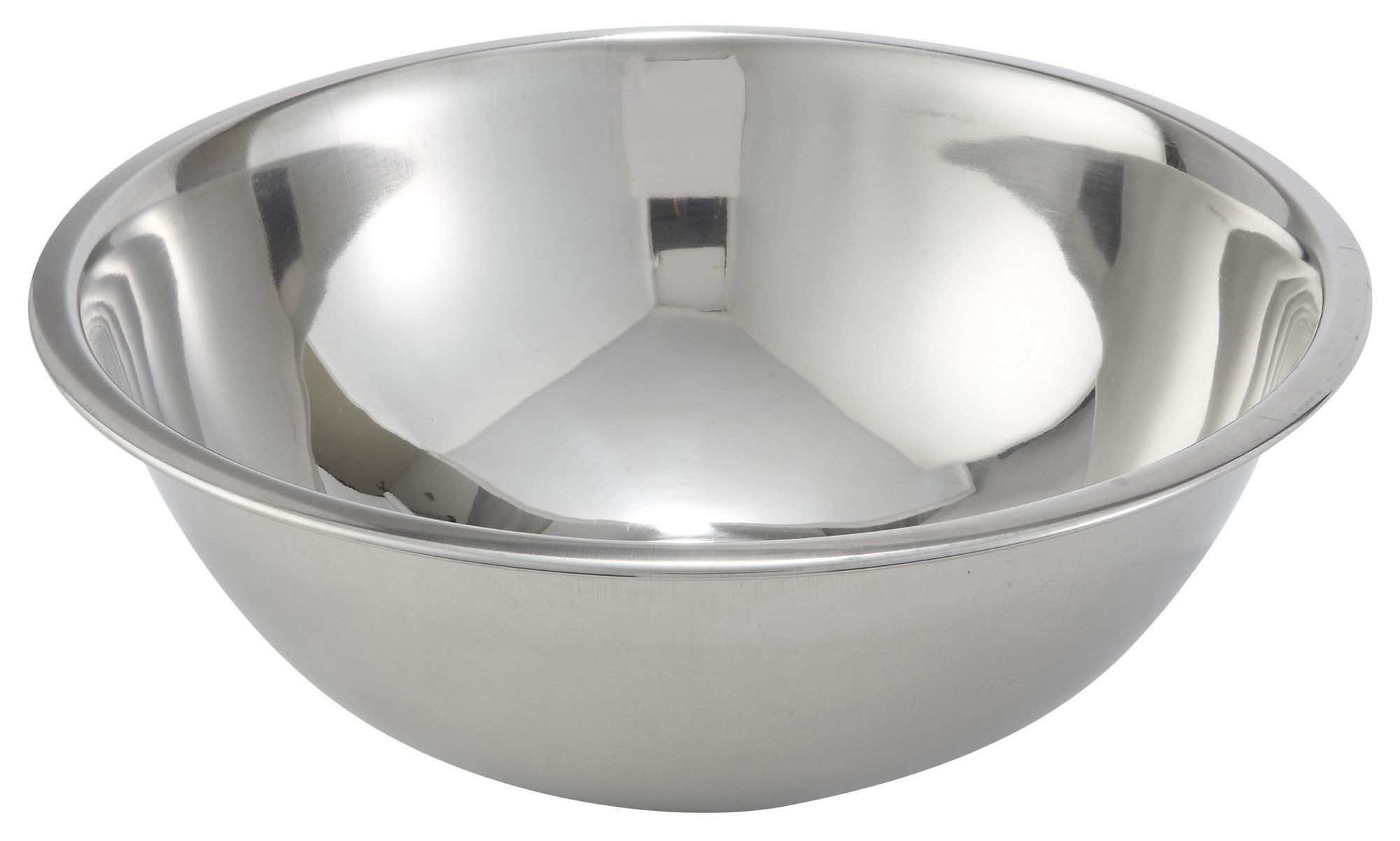 Winco MXBT-800Q Stainless Steel All-Purpose Mixing Bowl 8 Qt.