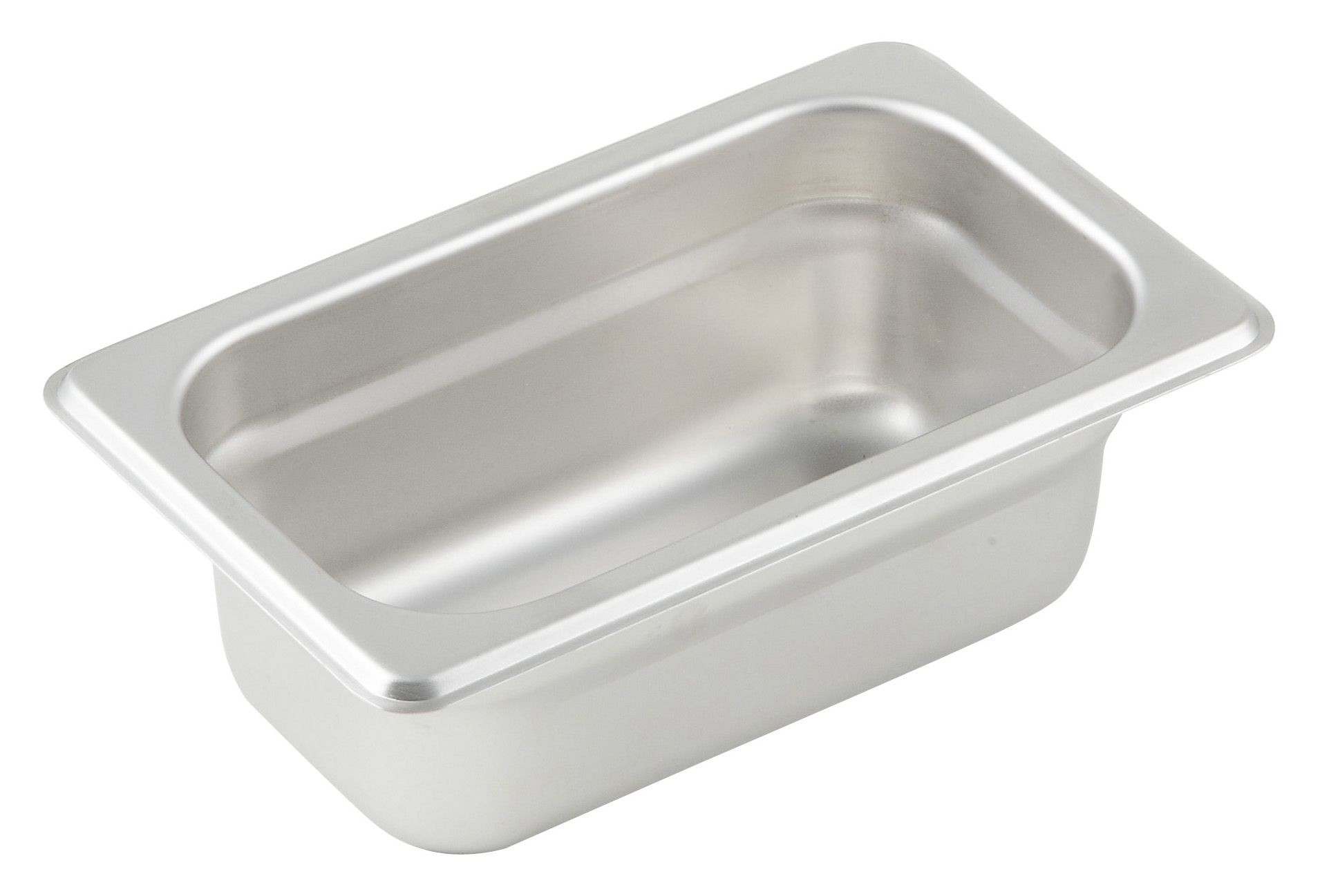 "Winco SPJM-902 1/9 Size Anti-Jam 24 Gauge Steam Table Pan 2-1/2"" Deep"