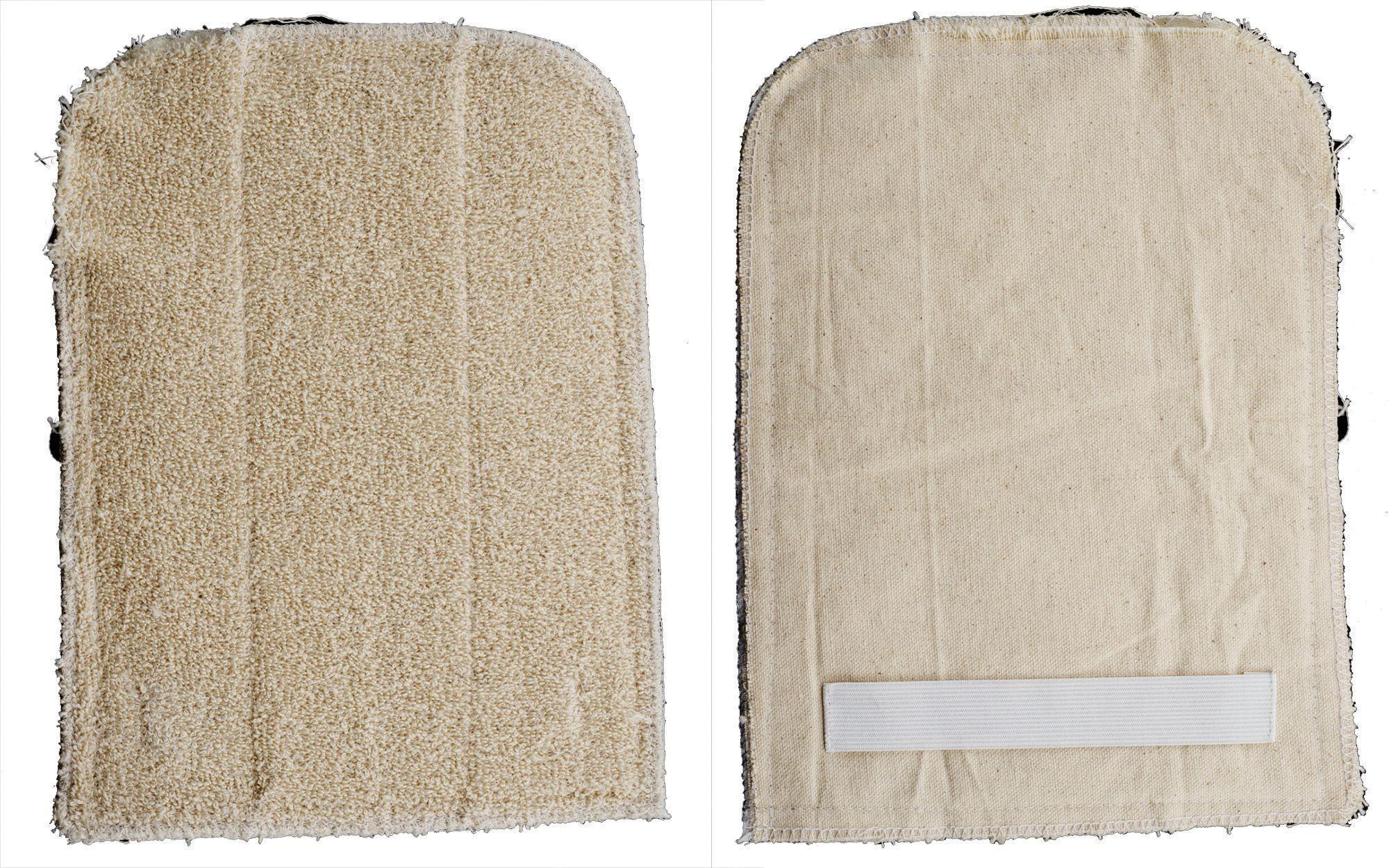 "Winco PH-811W 8"" x 11"" Rectangular Terry Cloth Pan Grabber"