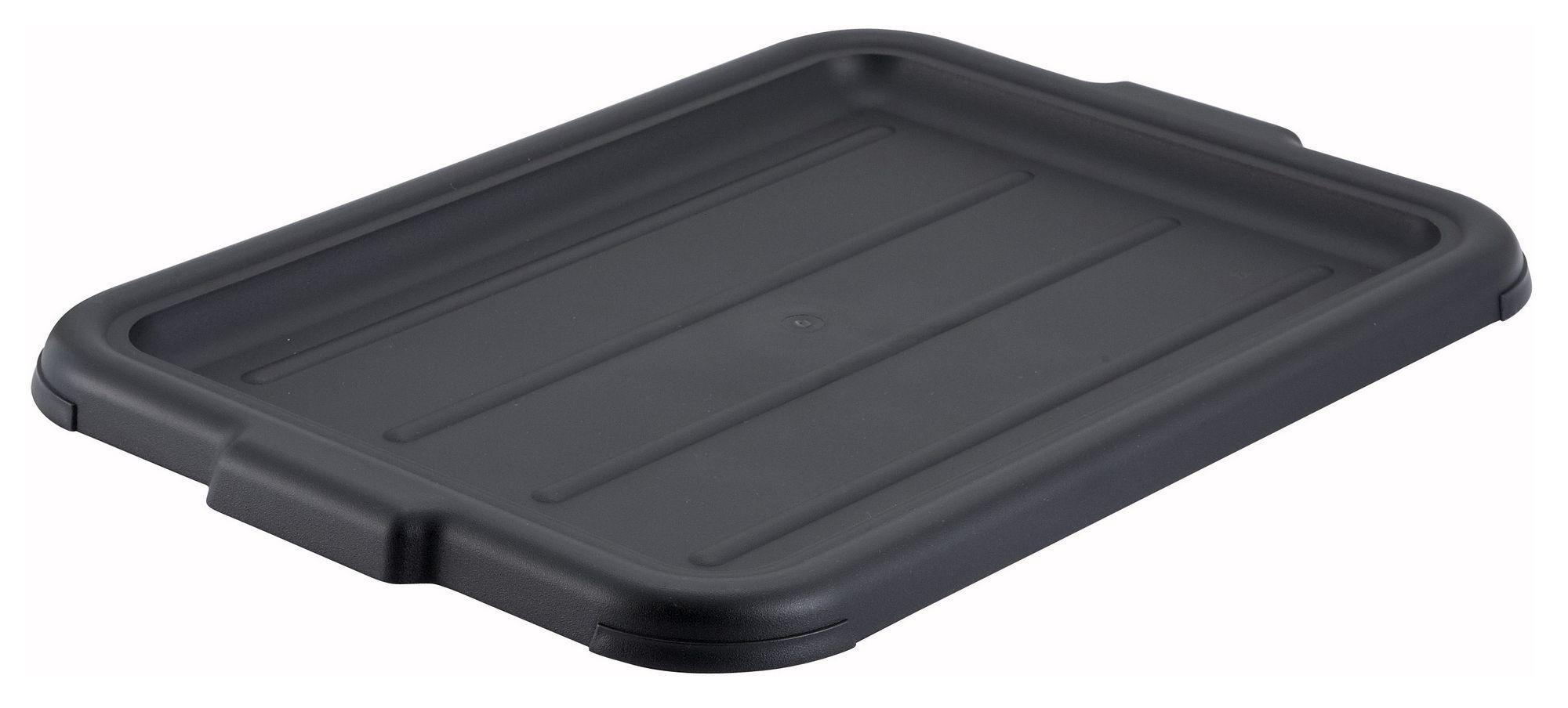 Winco PL-57K Black Dish Box Cover