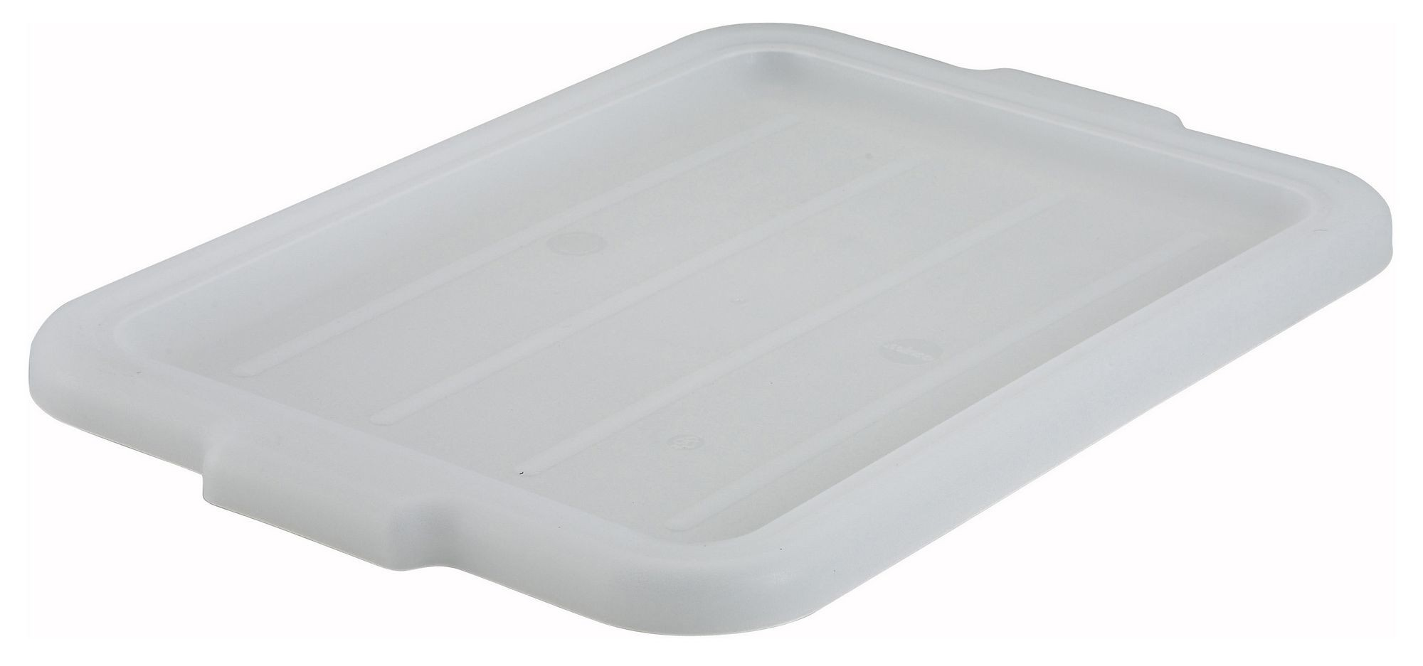 Winco PL-57W White Dish Box Cover
