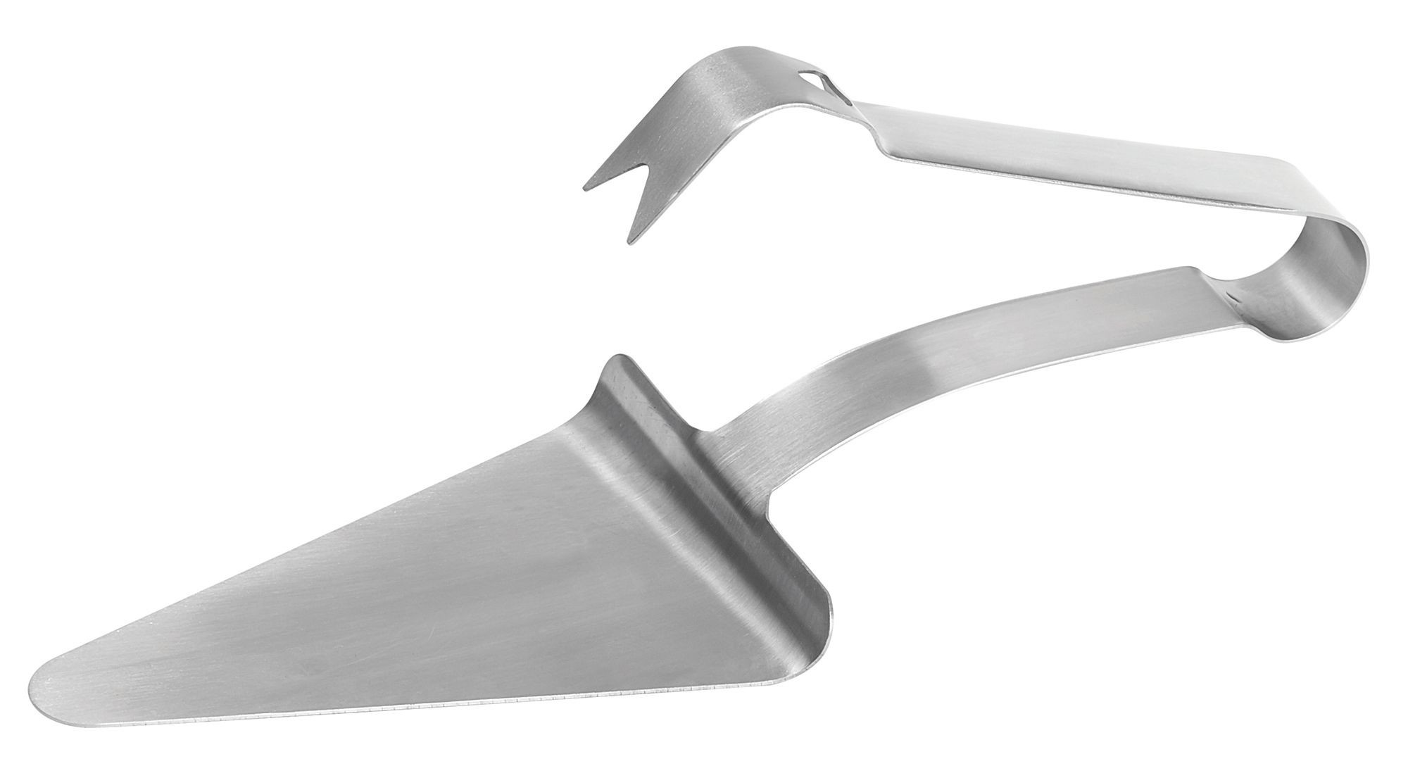 "Winco PZG-6 Pizza Server Tongs 5-1/2"" x 4-1/2"""