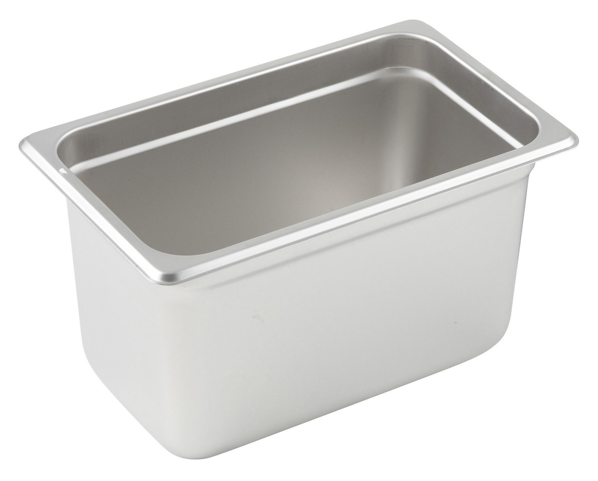 "Winco SPJM-406 1/4 Size Anti-Jam 24 Gauge Steam Table Pan 6"" Deep"