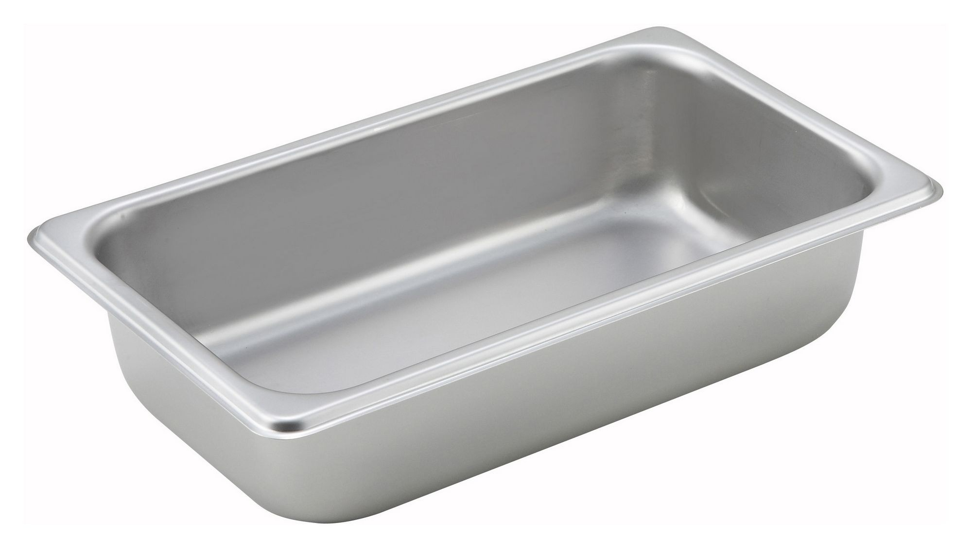 "Winco SPQ2 1/4 Size Standard Weight Steam Table Pan 2-1/2"" Deep"