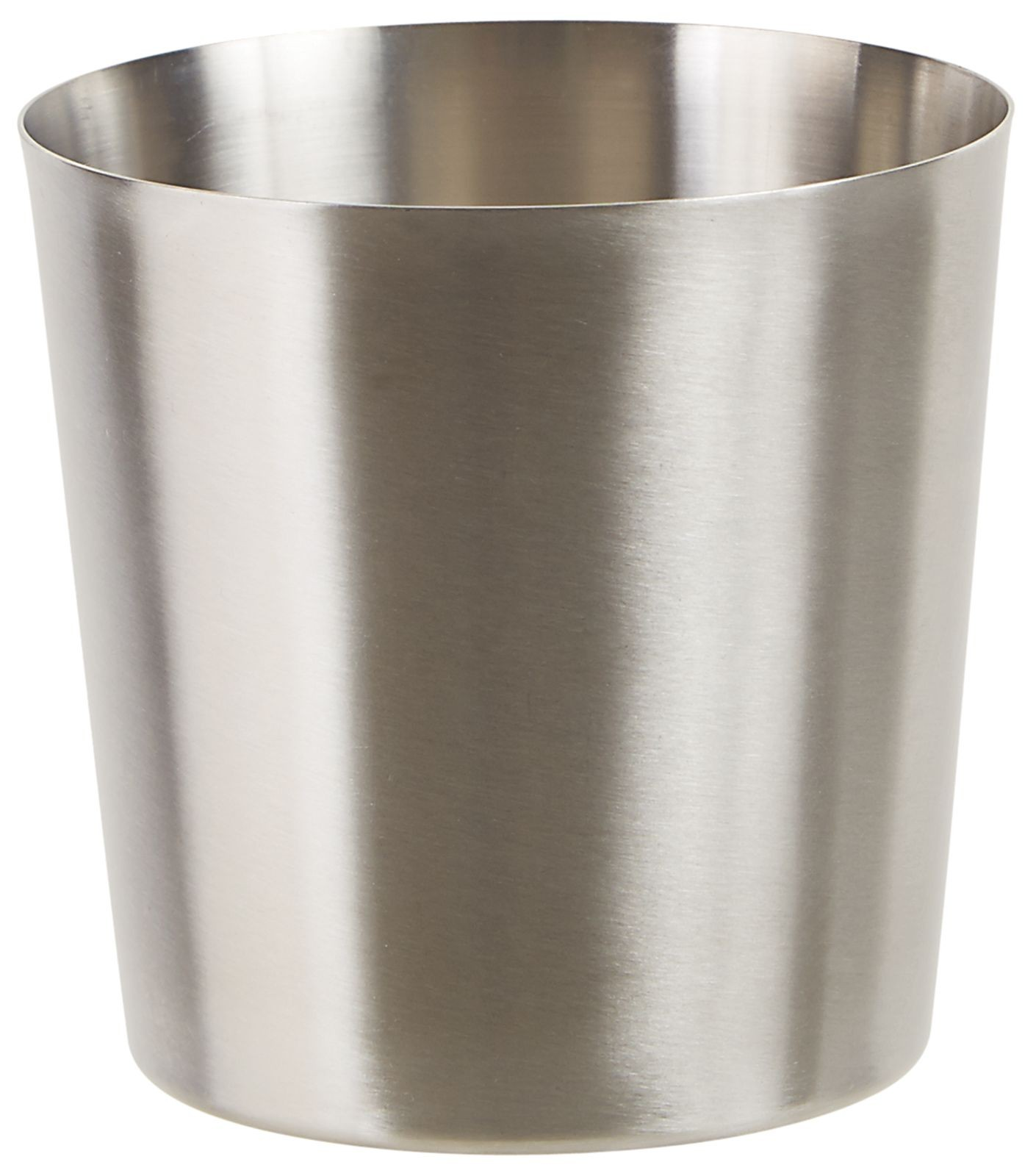 """Winco SFC-35 3.25"""" Dia. Stainless Steel Fry Cup with Satin Finish"""