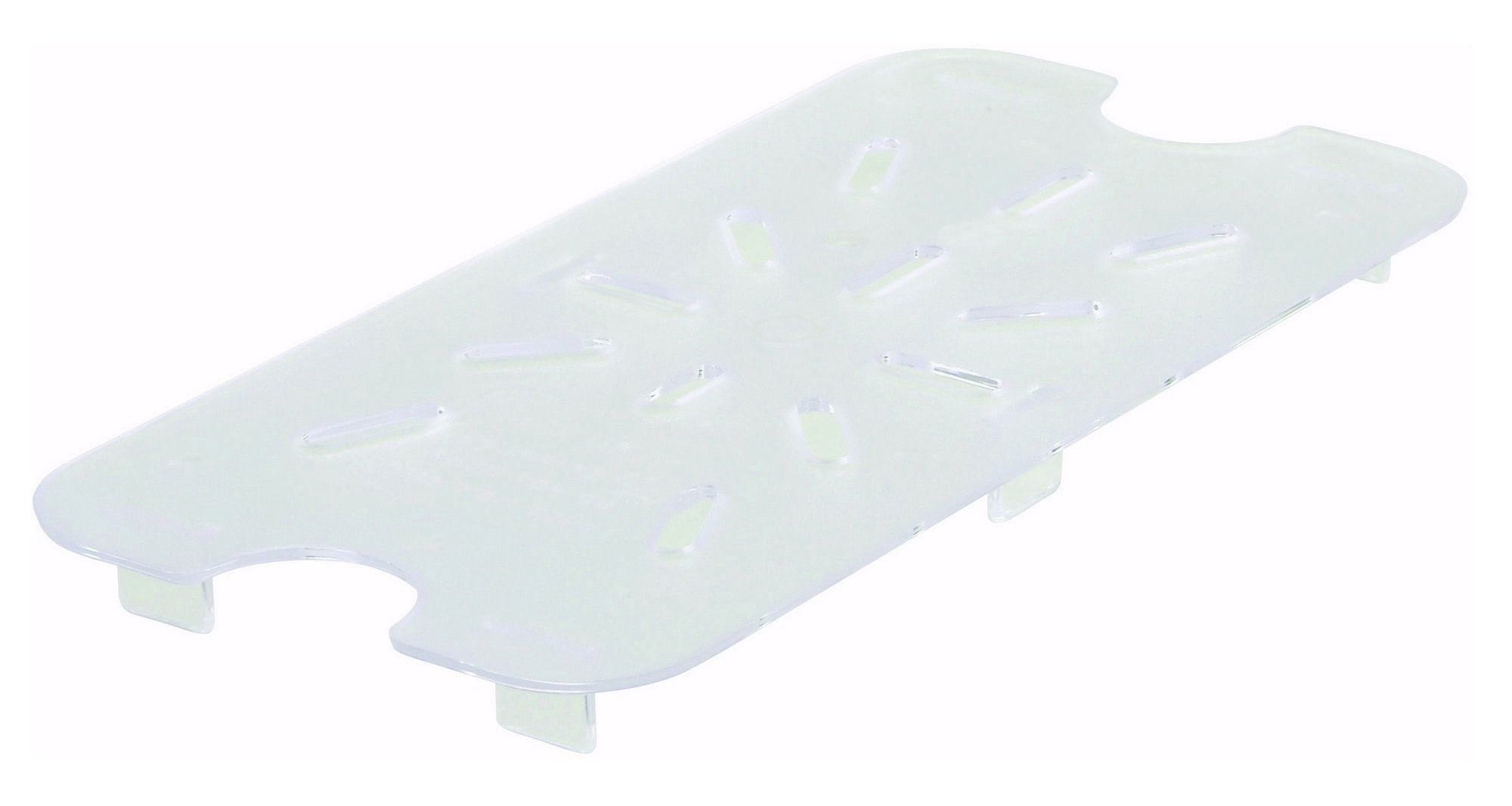 Winco SP79DS Ninth Size Polycarbonate Drain Shelf