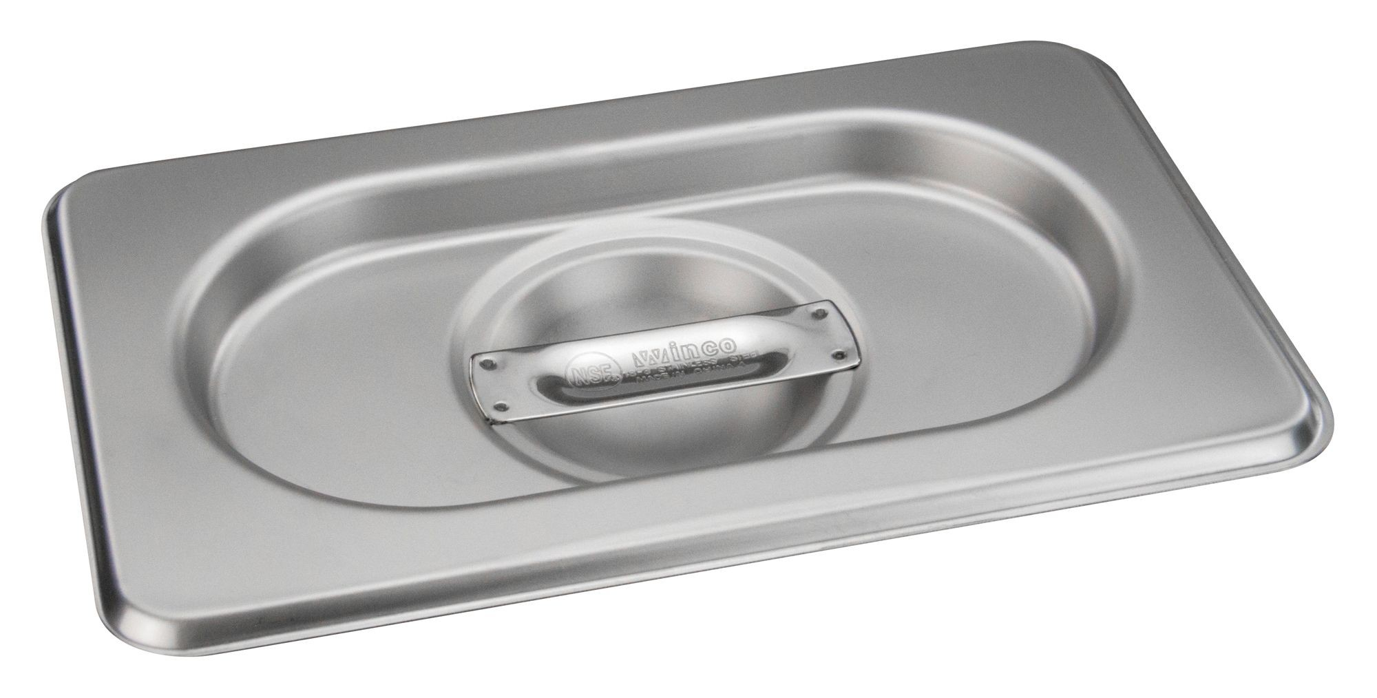 Winco Spscn Gn Soild Steam Pan Cover For Spjh 906g N