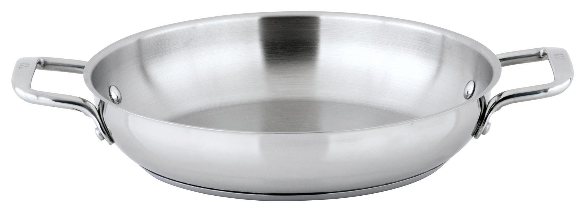 "Winco SSOP-11 Stainless Steel 11"" Omelet Pan"