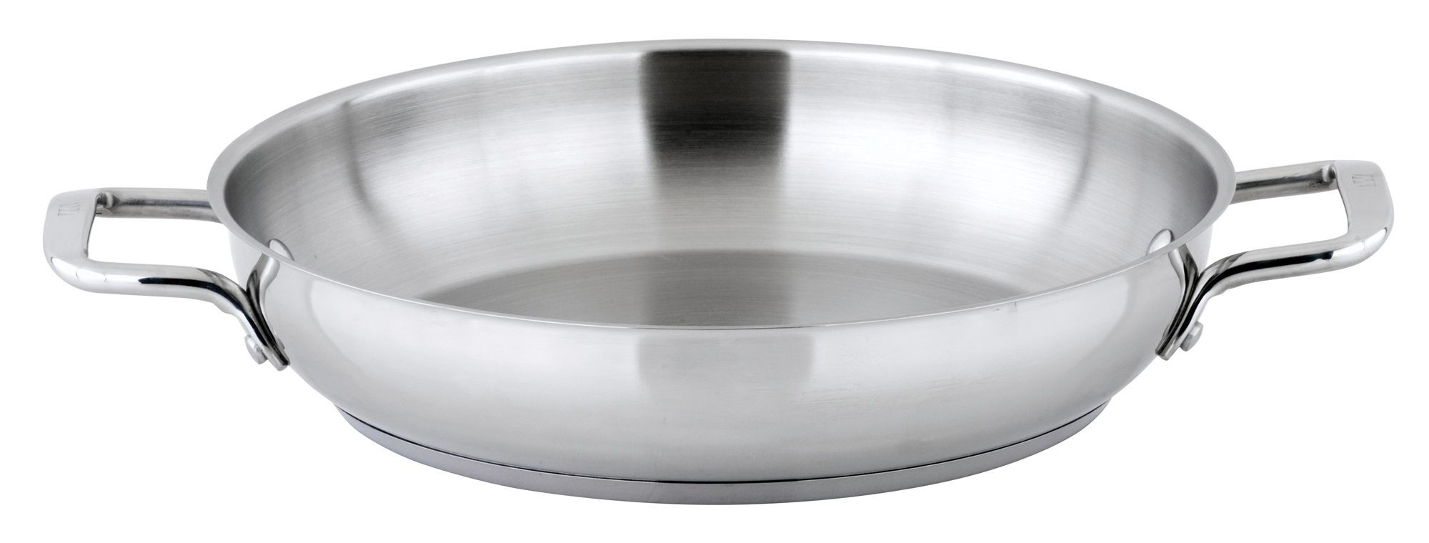 "Winco SSOP-12 Stainless Steel 12-1/2"" Omelet Pan"