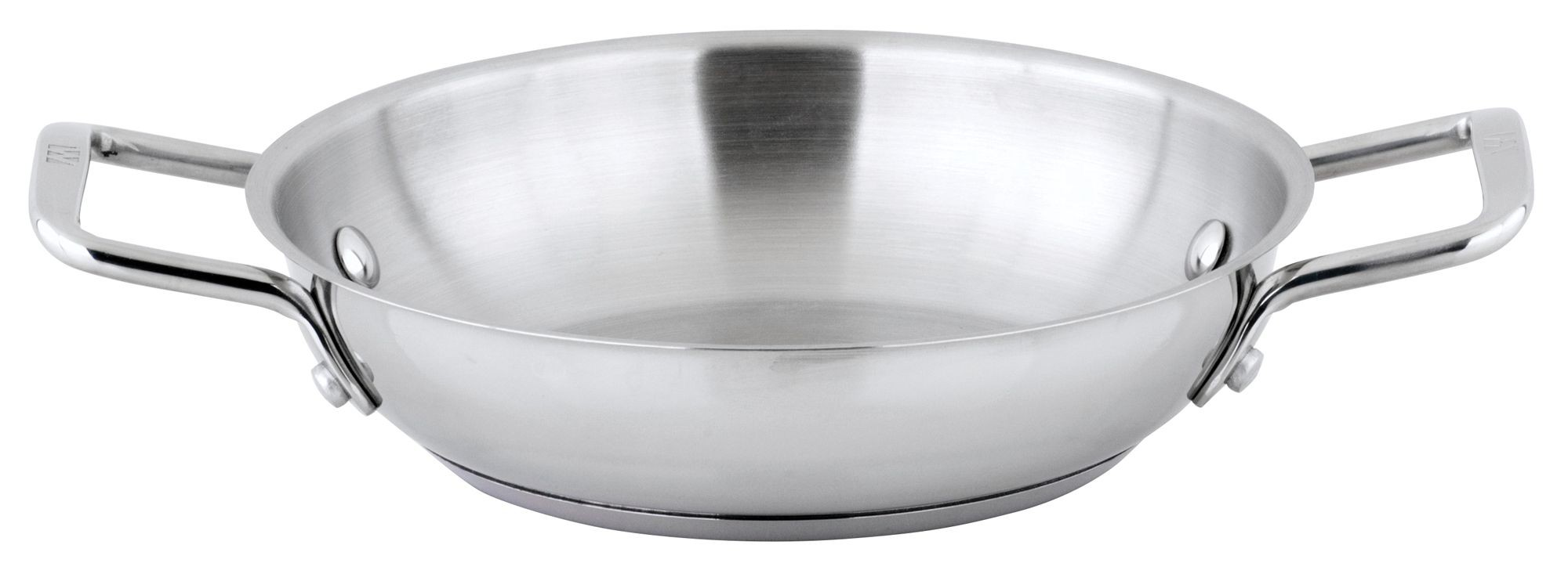 "Winco SSOP-8 Stainless Steel 8"" Omelet Pan"