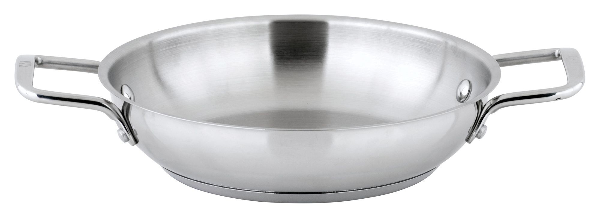"Winco SSOP-9 Stainless Steel 9-1/2"" Omelet Pan"
