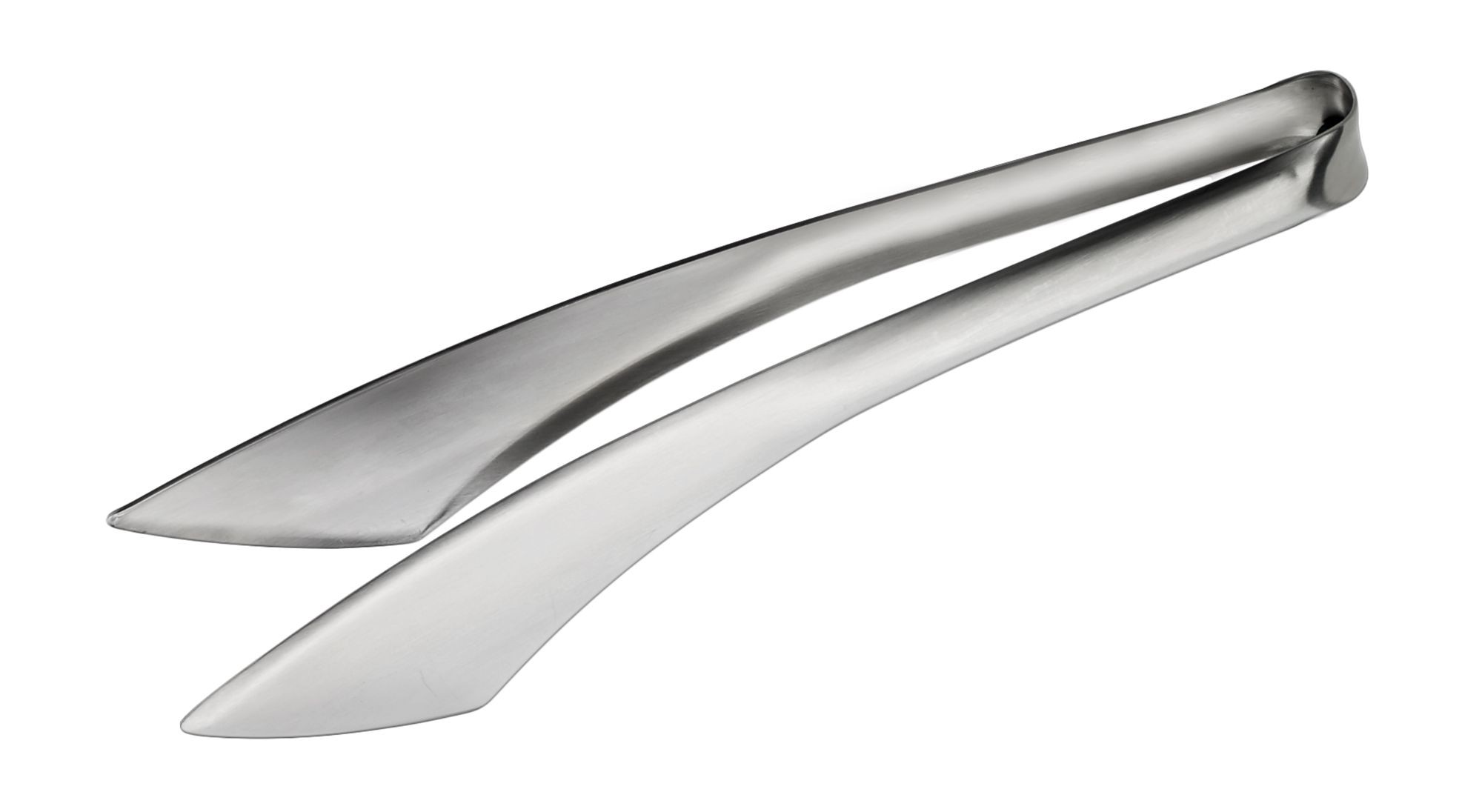 """Winco STH-8 Stainless Steel Serving Tongs with Satin Finish 8-1/2"""""""