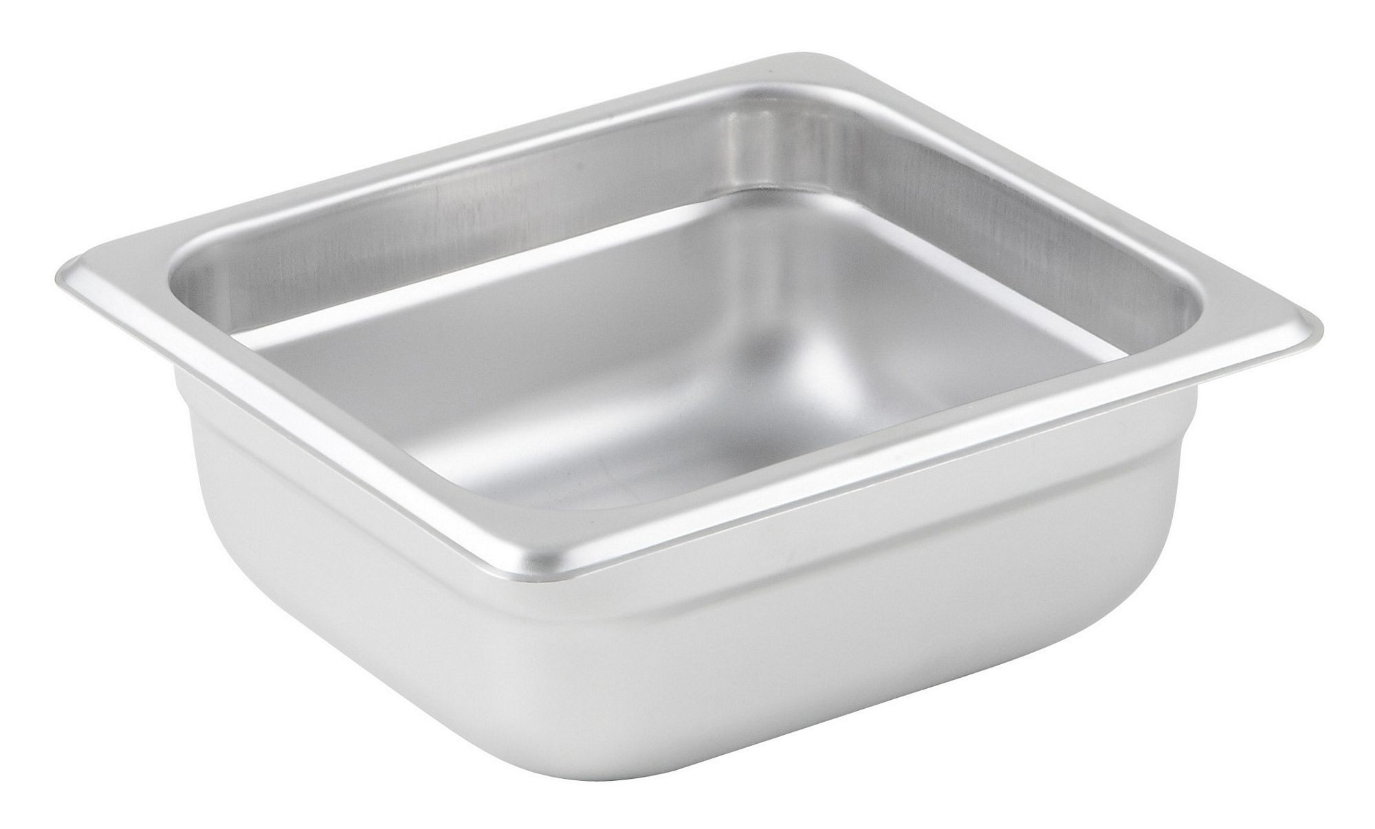 Winco Sixth Size Anti-Jamming Steam Table Pan (25 Gauge, 2.5