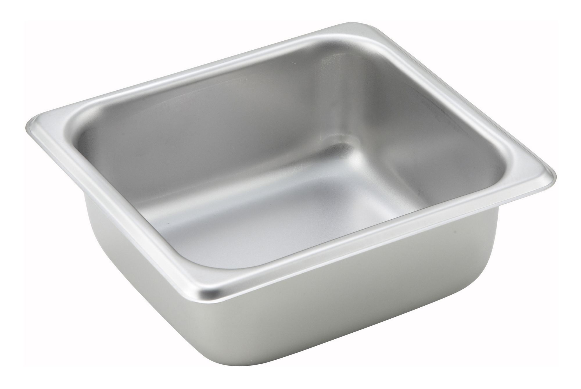 "Winco SPS2 1/6 Size Standard Weight Steam Table Pan 2-1/2"" Deep"