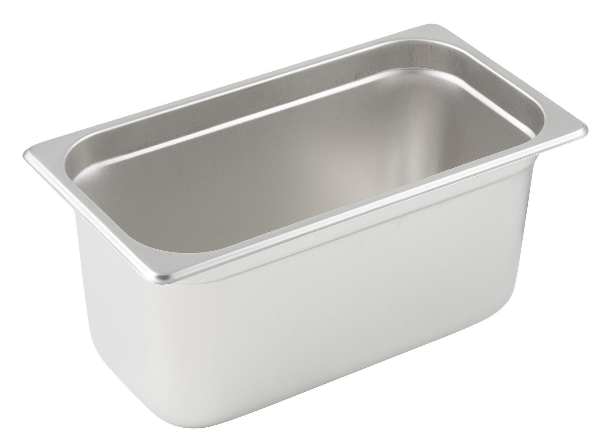 Winco Third Size Anti-Jamming Steam Table Pan (24 Gauge, 6