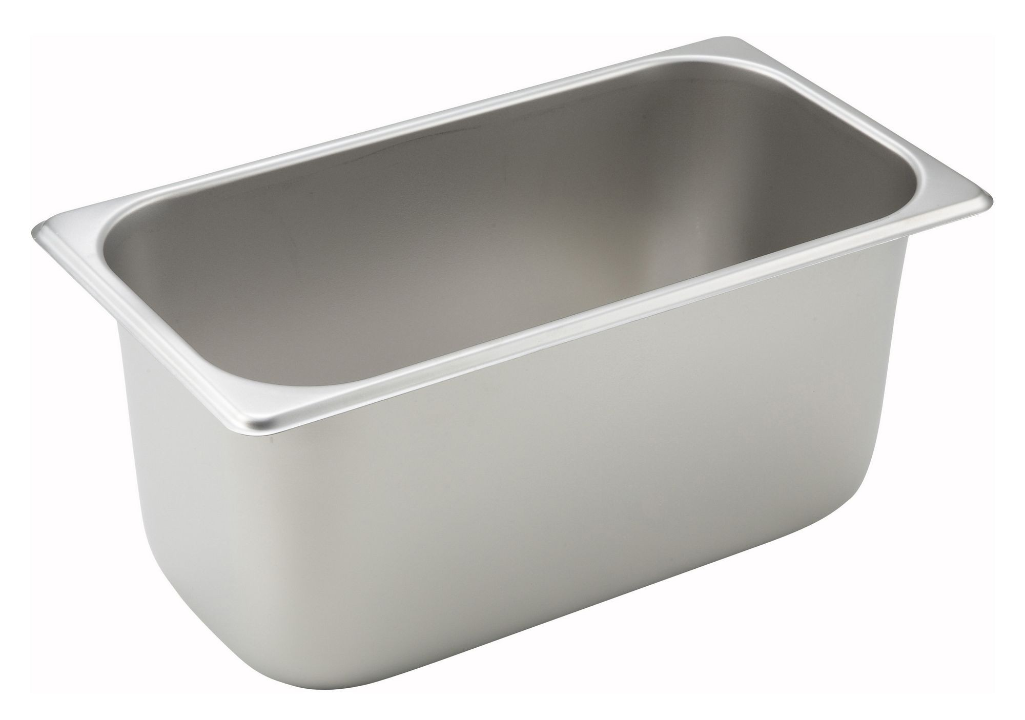 "Winco SPT6 1/3 Size Standard Weight Steam Table Pan 6"" Deep"