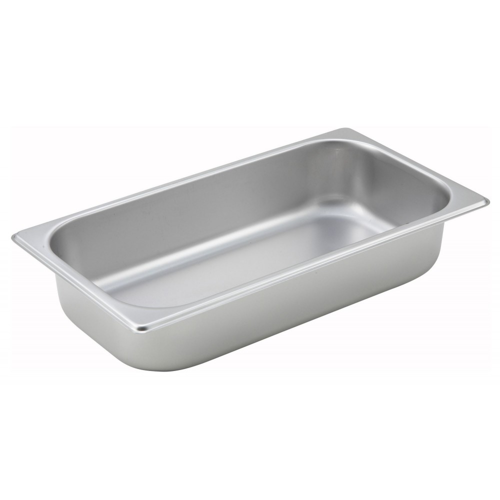 Winco Third Size Steam Table Pan (25 Gauge, 2.5