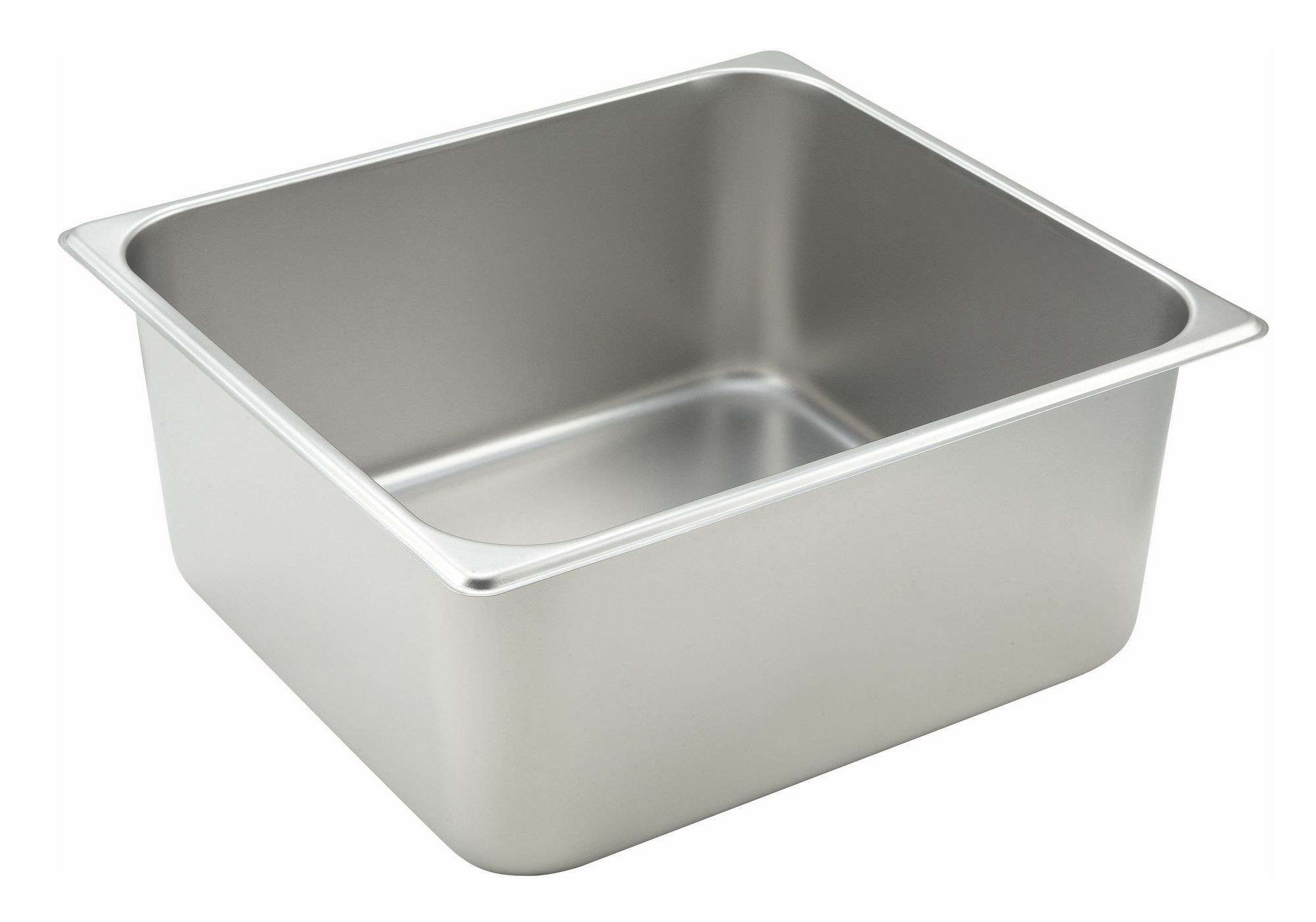 Winco Two-Third Size Steam Table Pan (25 Gauge, 6