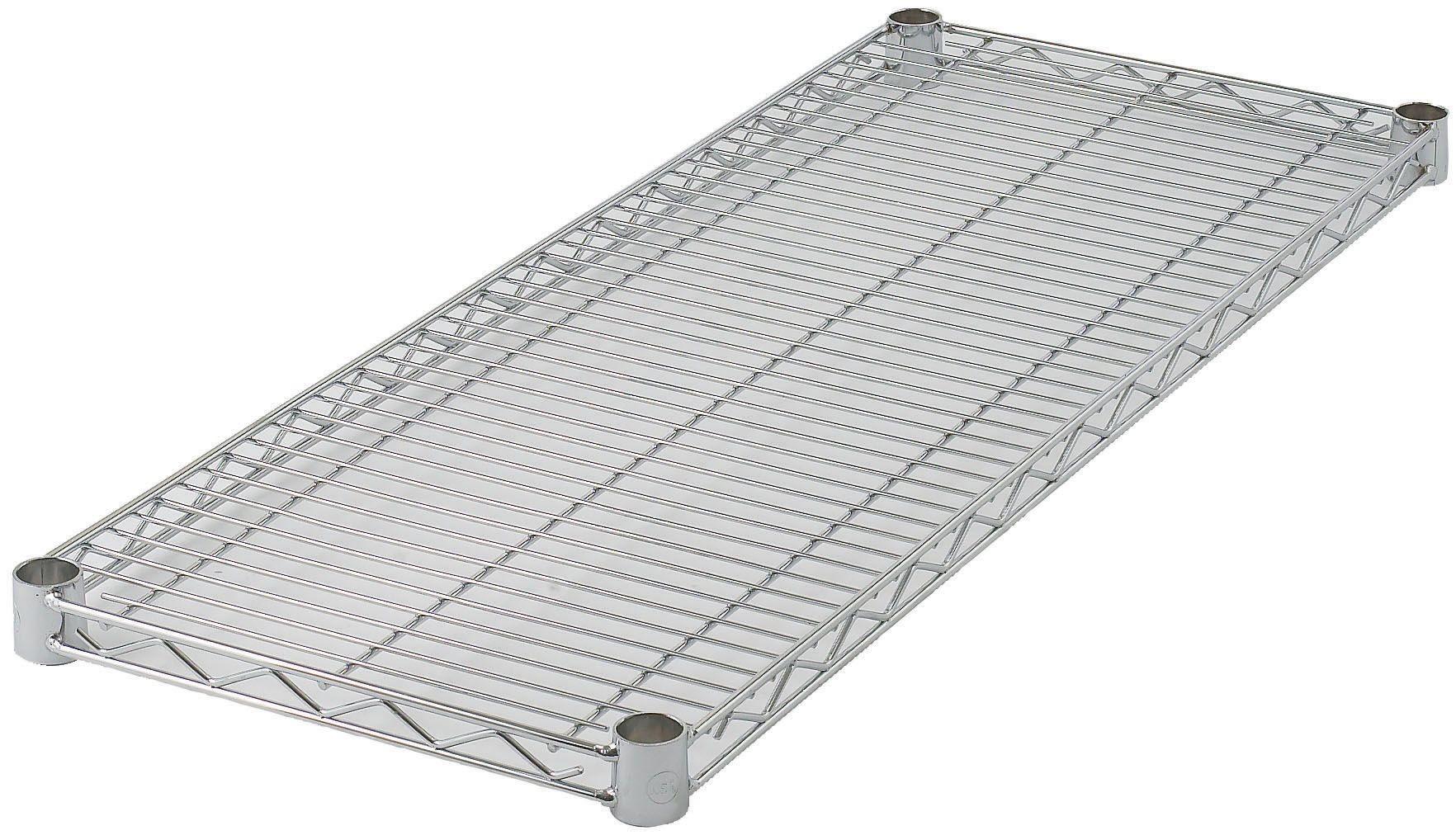 "Winco VC-1424 Chrome-Plated Wire Shelf 14"" x 24"""