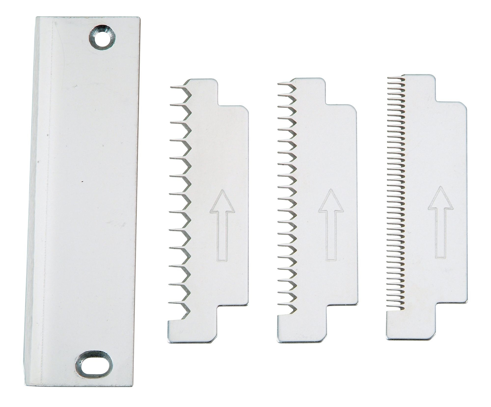 Winco VTS-3GBS Serrated 3-Piece Blade Set for VTS-3G