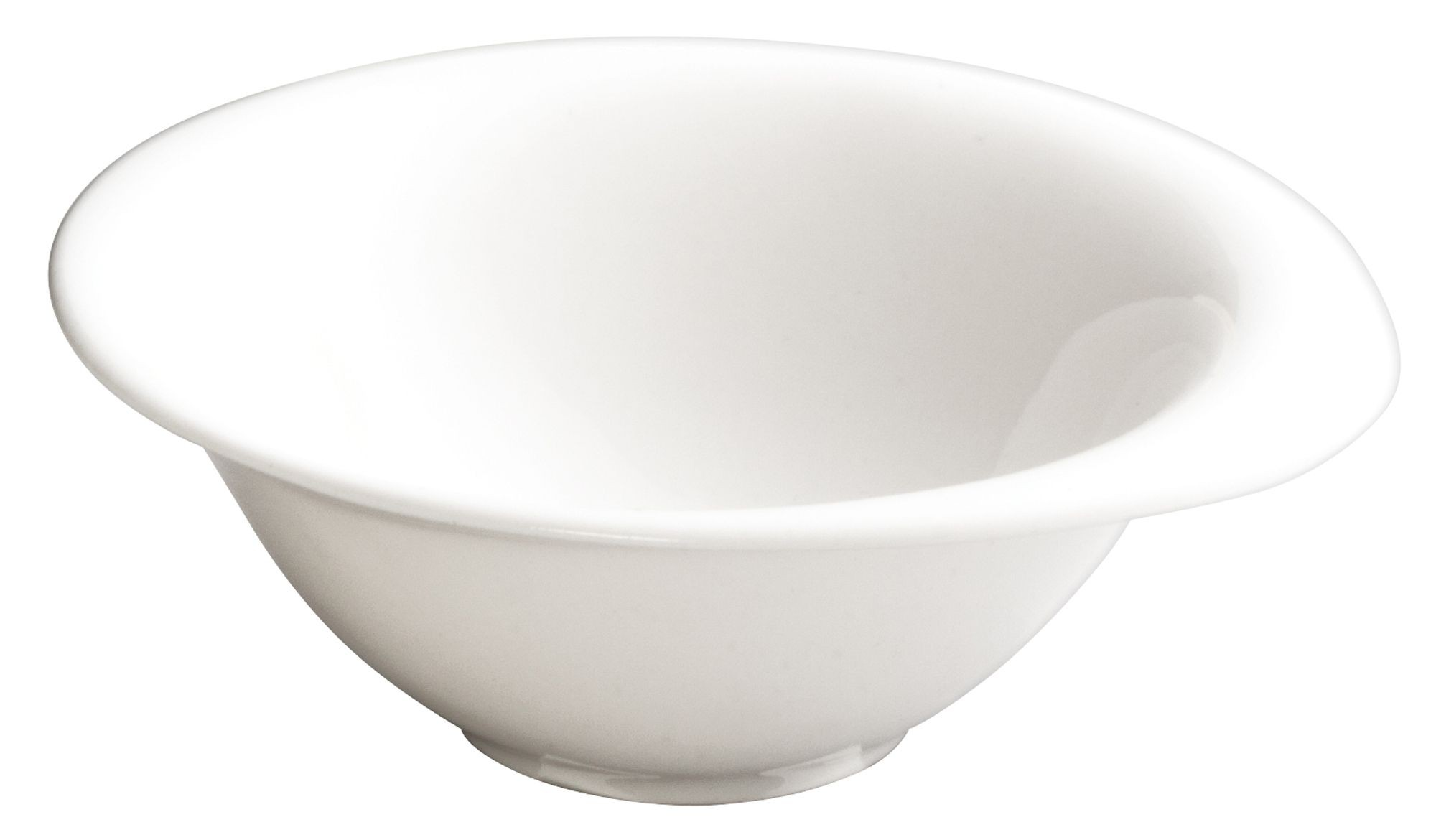 "Winco WDP004-206 Ocea Creamy White Porcelain Round Bowl 6"""