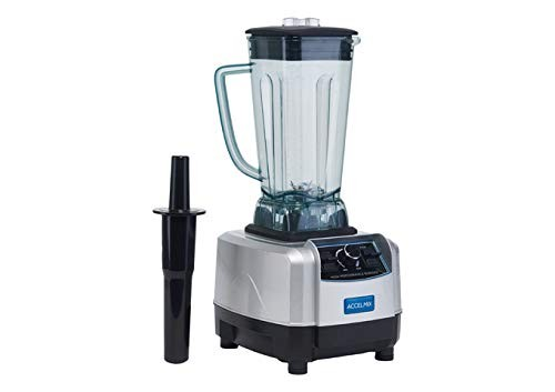 Winco XLB-1000 ACCELMIX Electric Blender with Paddle Controls, 1450W