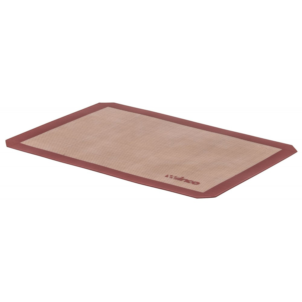 "Winco SBS-16 Silicone Square Baking Mat 11-7/8"" x 16-1/2"""