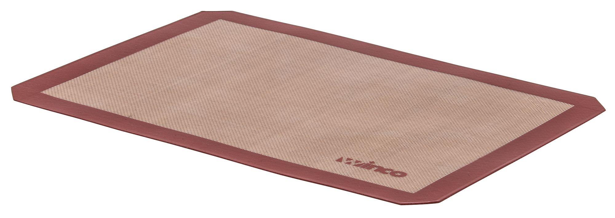 """Winco SBS-16 Silicone Square Baking Mat 11-7/8"""" x 16-1/2"""""""