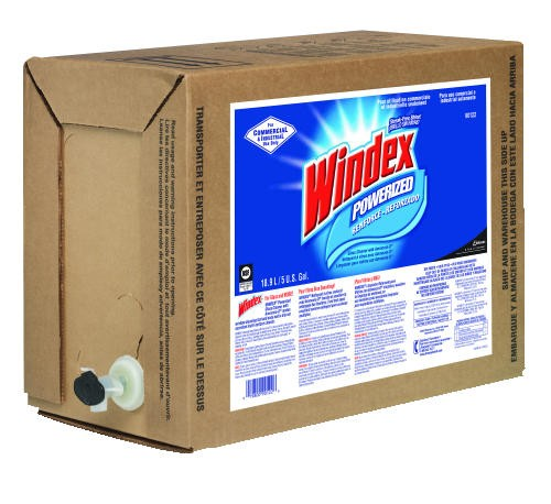 Windex� in 5 Gallon Bag In Box with Dispenser