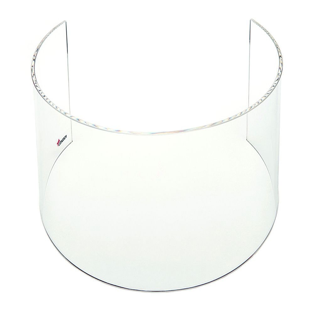 "Rosseto SA111 Tall Clear Acrylic Windguard for 10"" Round Warmer 15"" x 15"" x 10"""