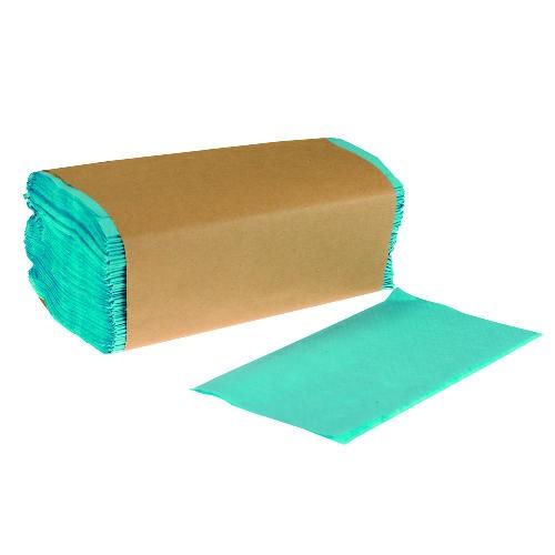 Windshield Wiper Single-Folded Towel, Blue