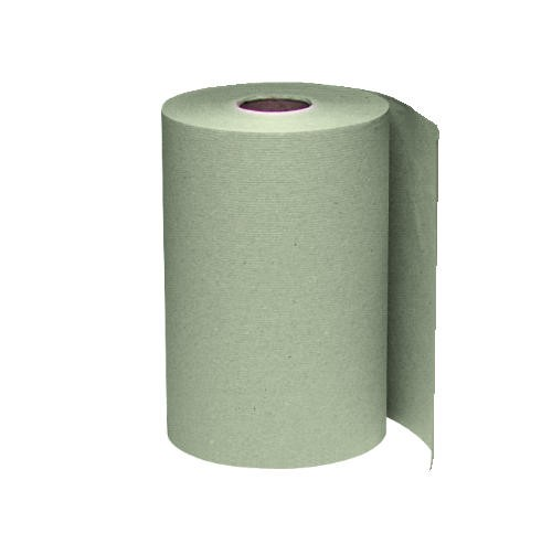 Windsoft Roll Paper Towel 8W x 6.5, 1-Ply, Brown