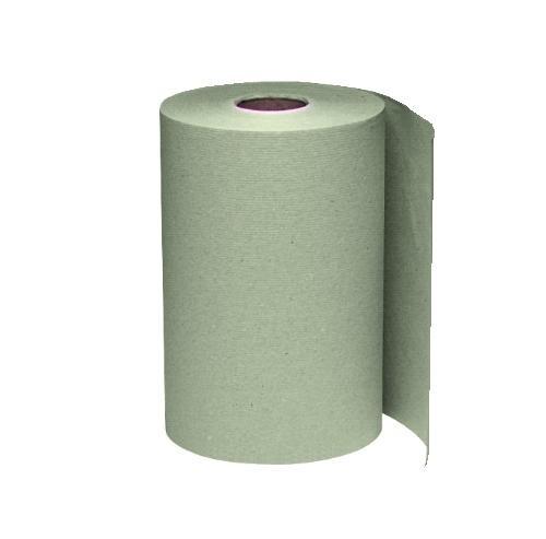 Windsoft Roll Towel, 8W x 8 Dia, 1-Ply Brown 6/800