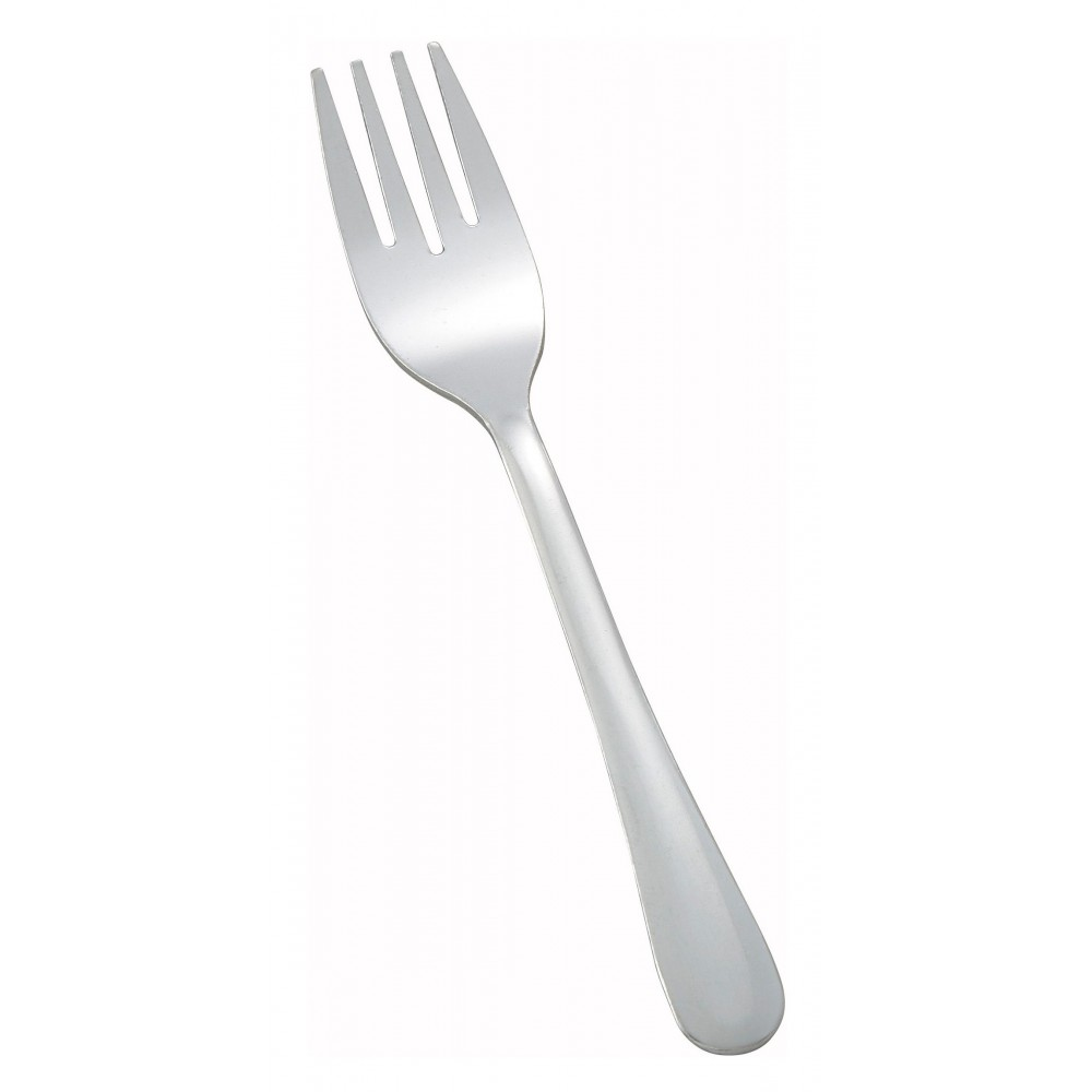 Winco 0012-06 Windsor Heavy Weight 18/0 Stainless Steel Salad Fork (12/Pack)