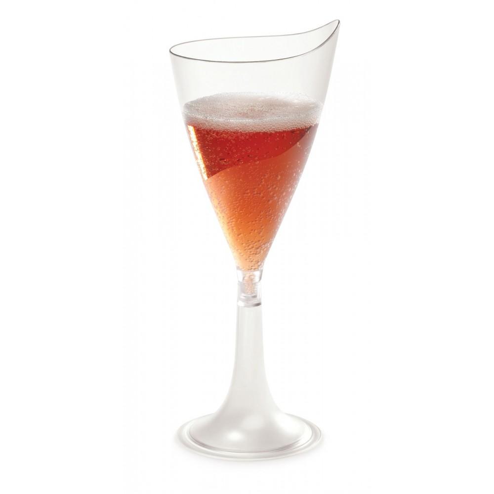Rosseto L50100 Liteware Clear Plastic Wine Flute 5.5 oz. (Case Of 144)